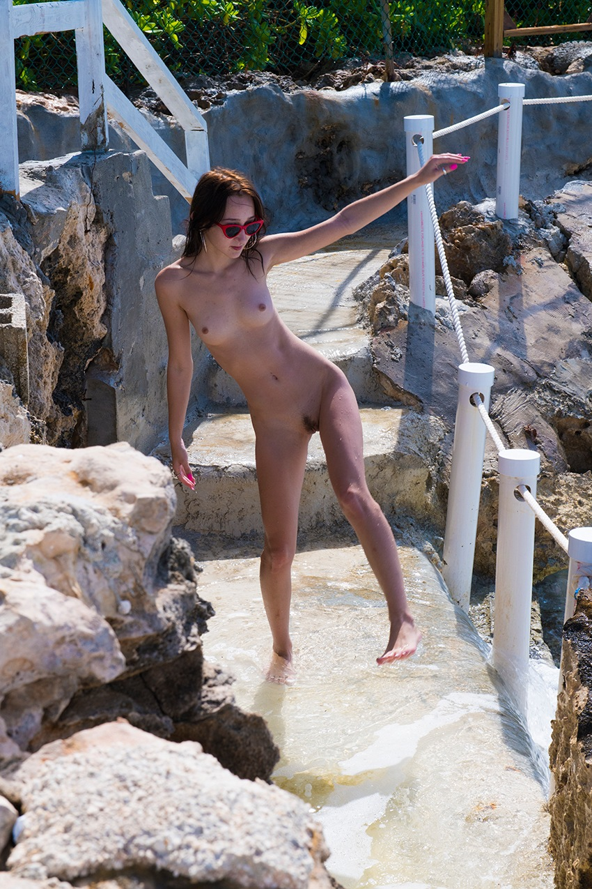 Photo in Nude #outside!
