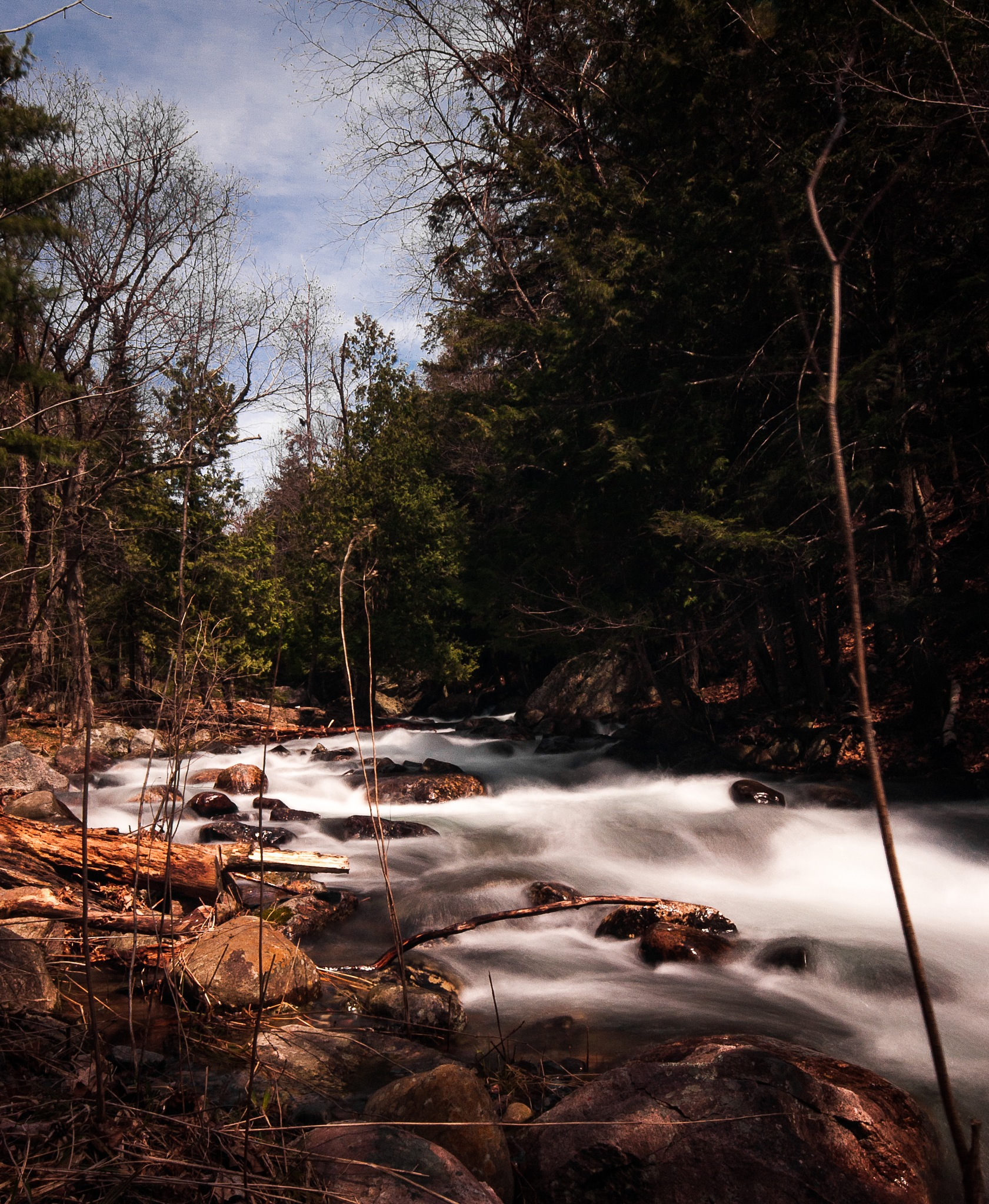 River Flow by JPBeauchesne