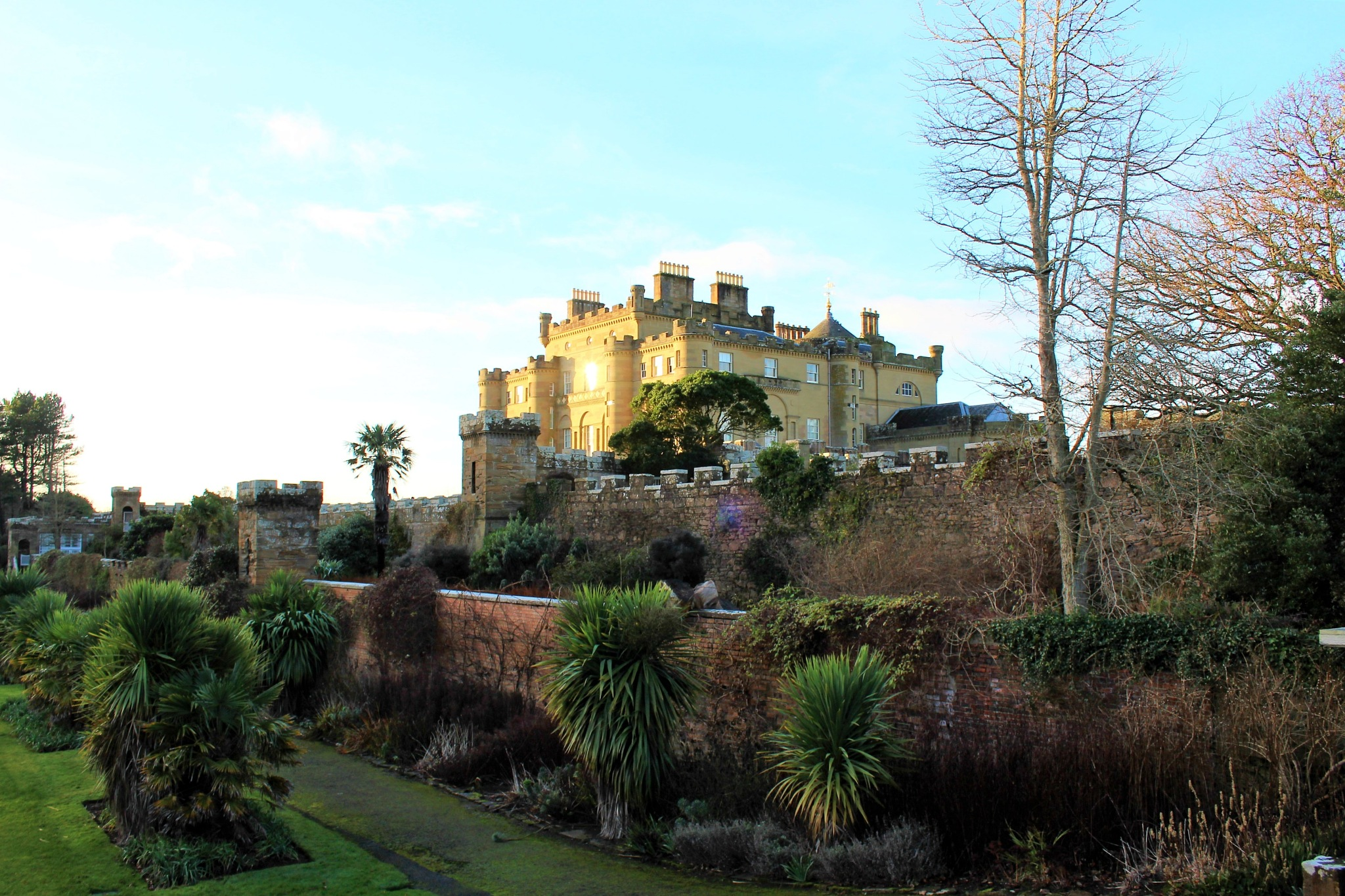 culzean castle scotland by Elizabeth Hannah