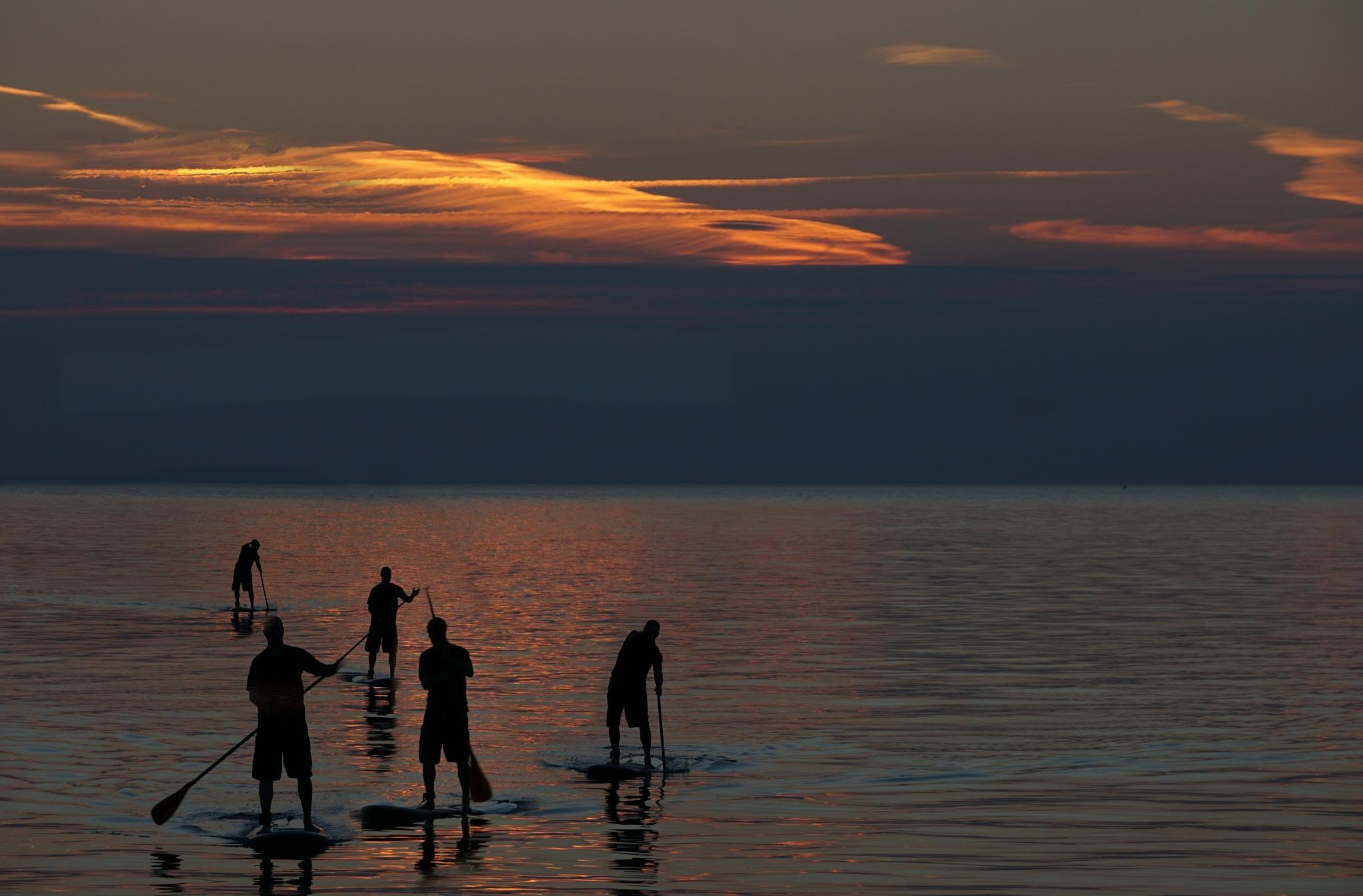 After sunset by Klavs Nielsen
