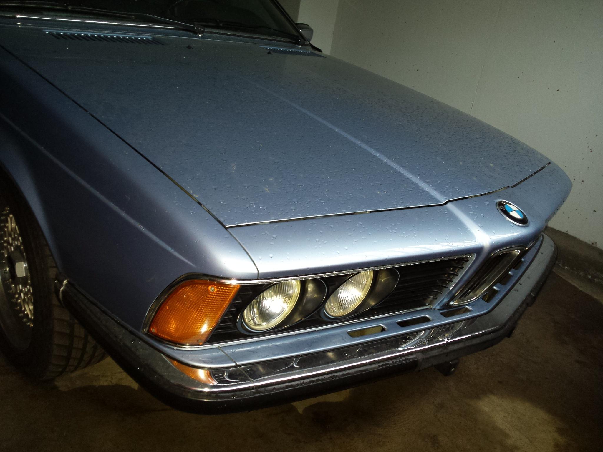 classic car BMW 630 cs  by ossiboy