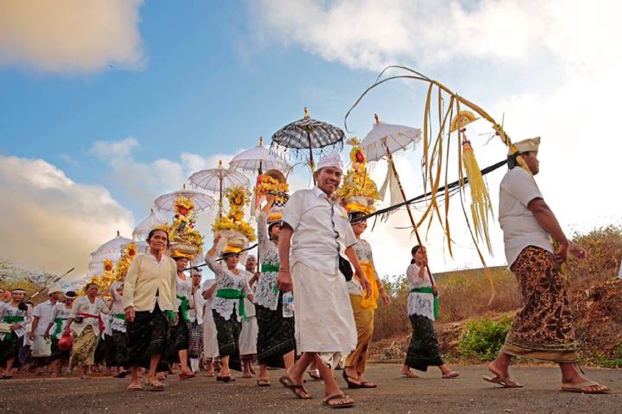 Balinese ceremony by Astina77
