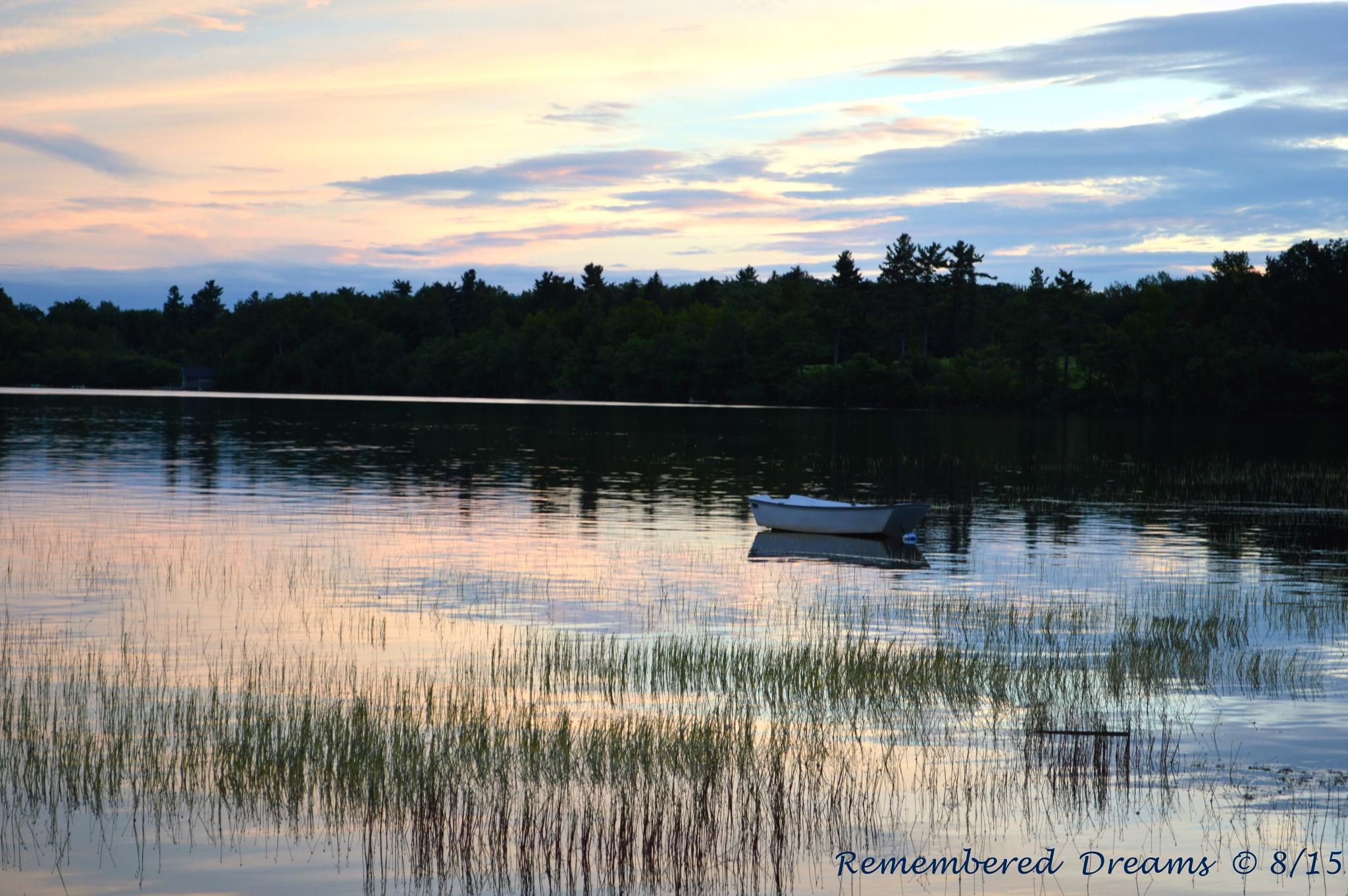 0482 II Dublin Lake Sunset by AndrewScott