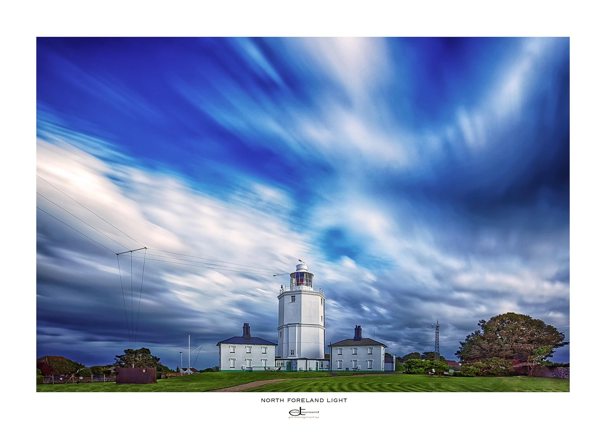Lighthouse, landscape, architecture, by David Townsend