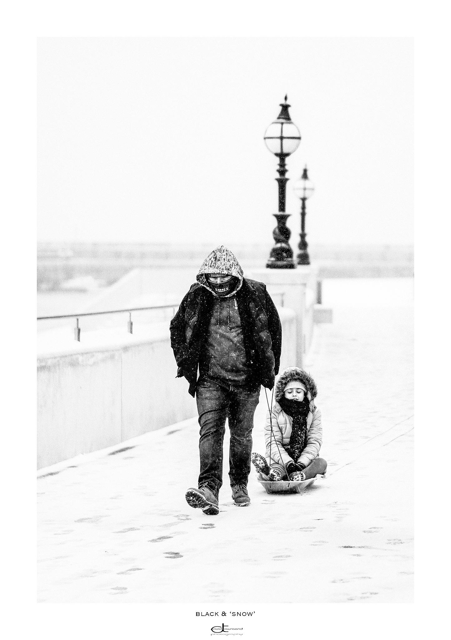 Black & 'Snow' by David Townsend