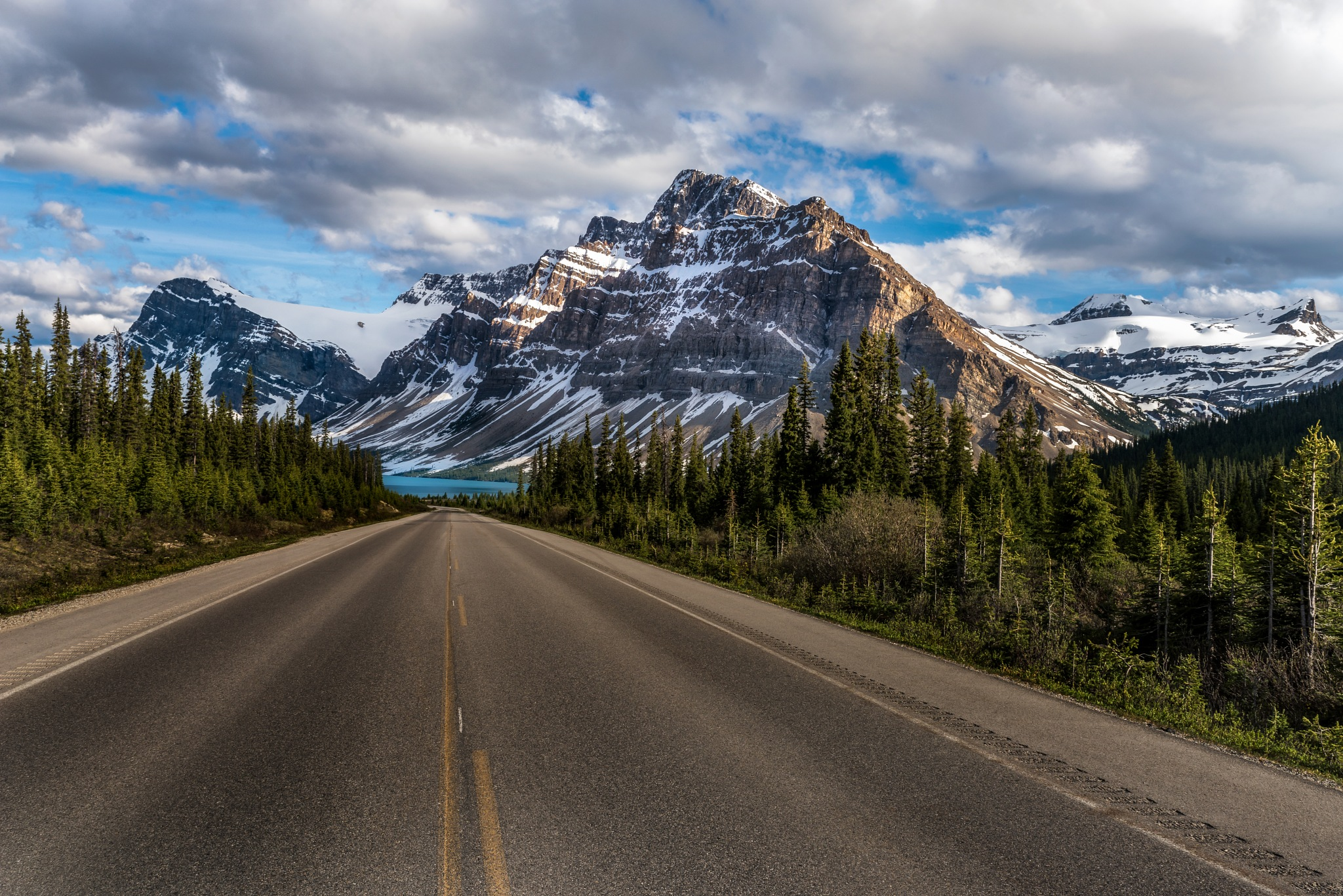 Road to Bow Lake by Robert Schmalle