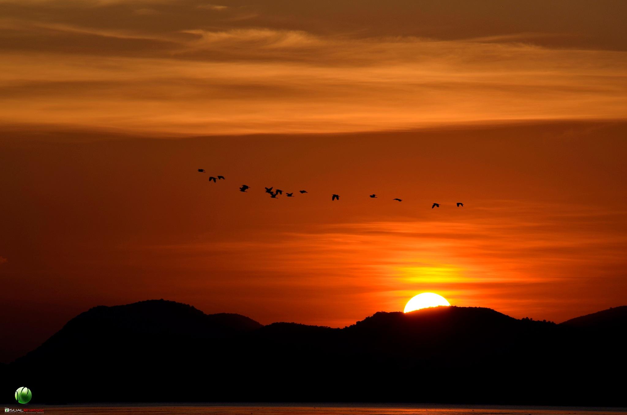 Sun set by Niranjan