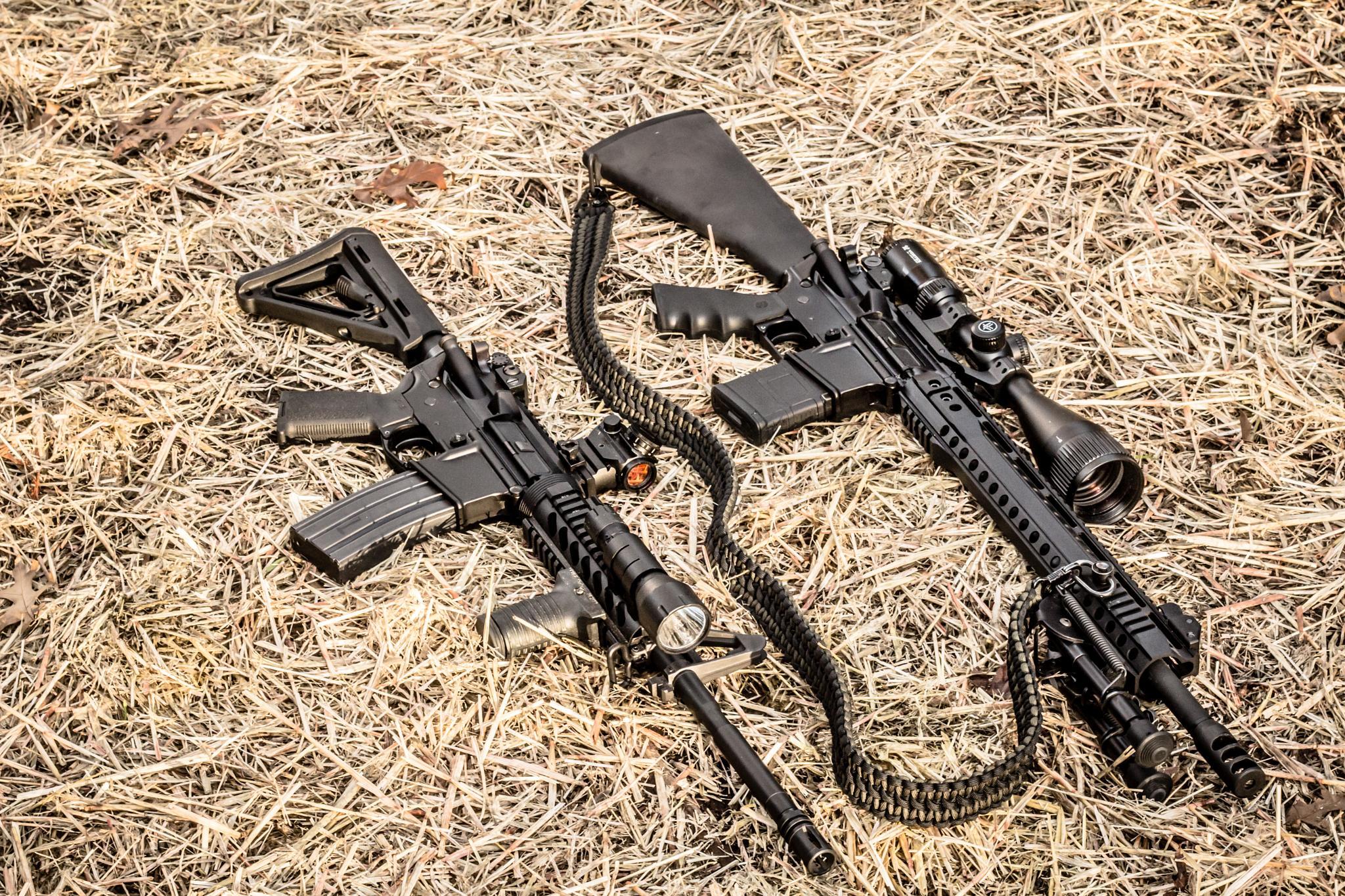 AR-15 Rifles by Brett Donley