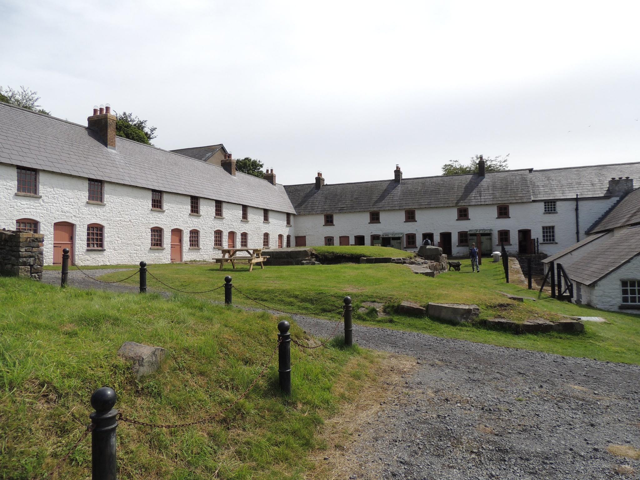 Old Welsh cottages by David Wagner