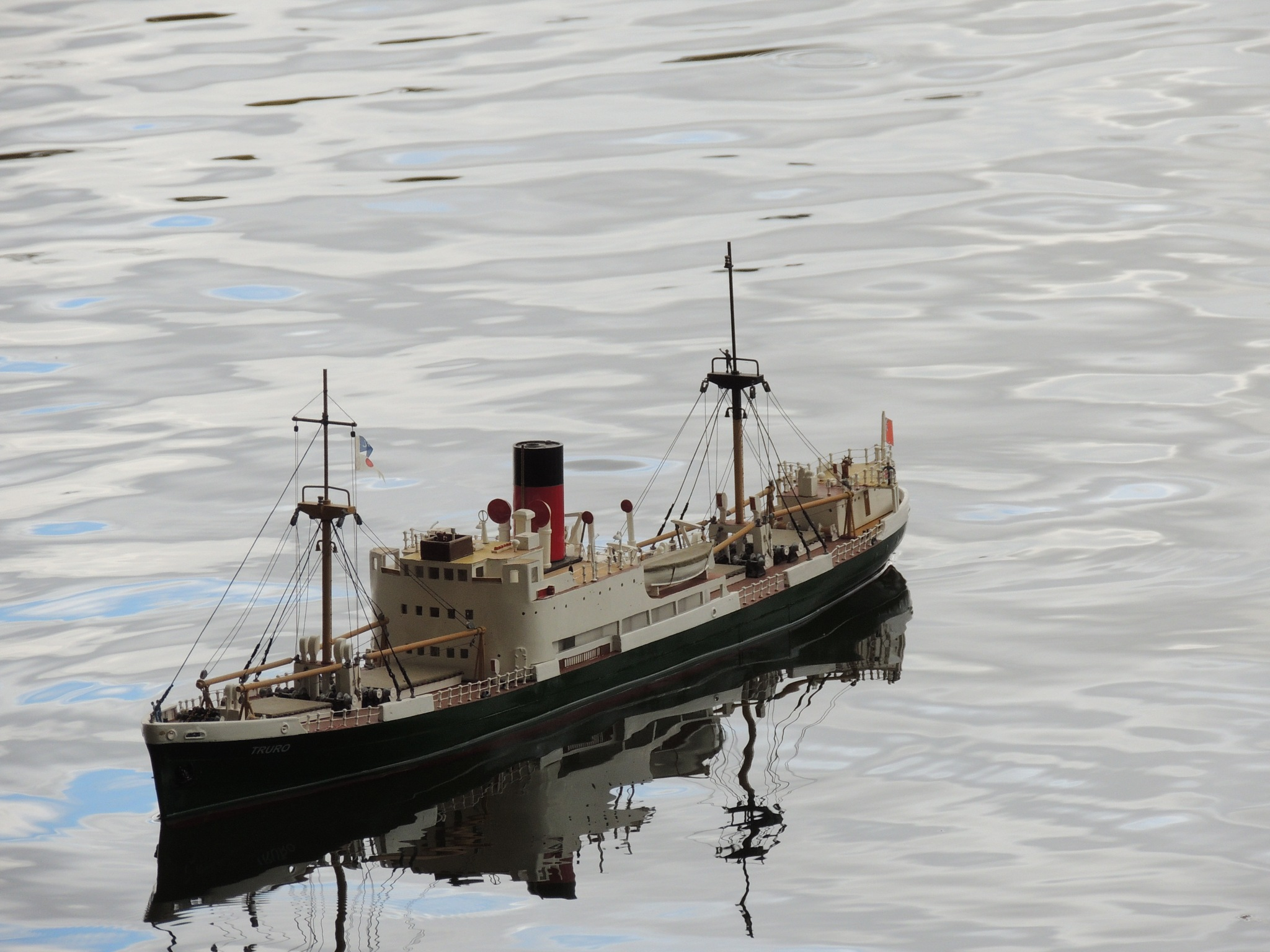 HMS Reflection. by David Wagner