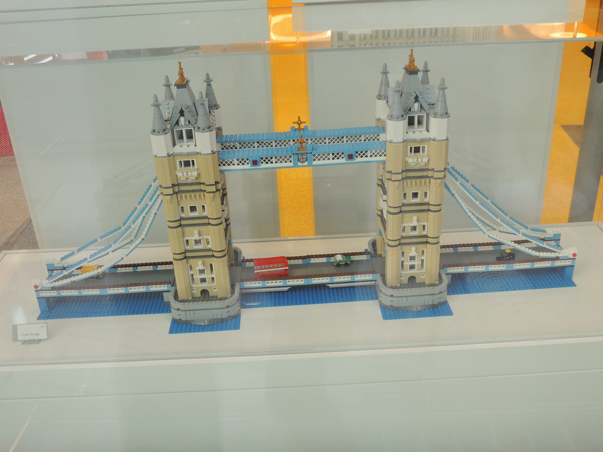 Tower Bridge from Lego. by David Wagner