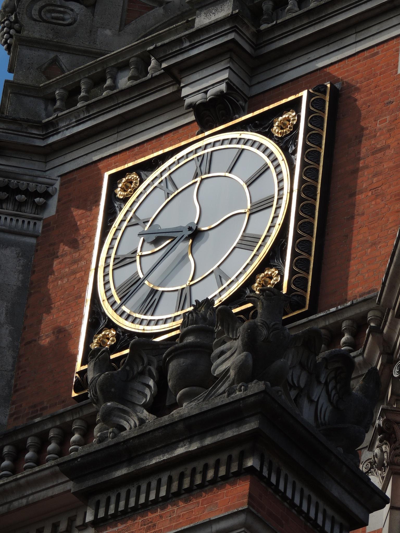 Clock Tower Royal Holoway by David Wagner