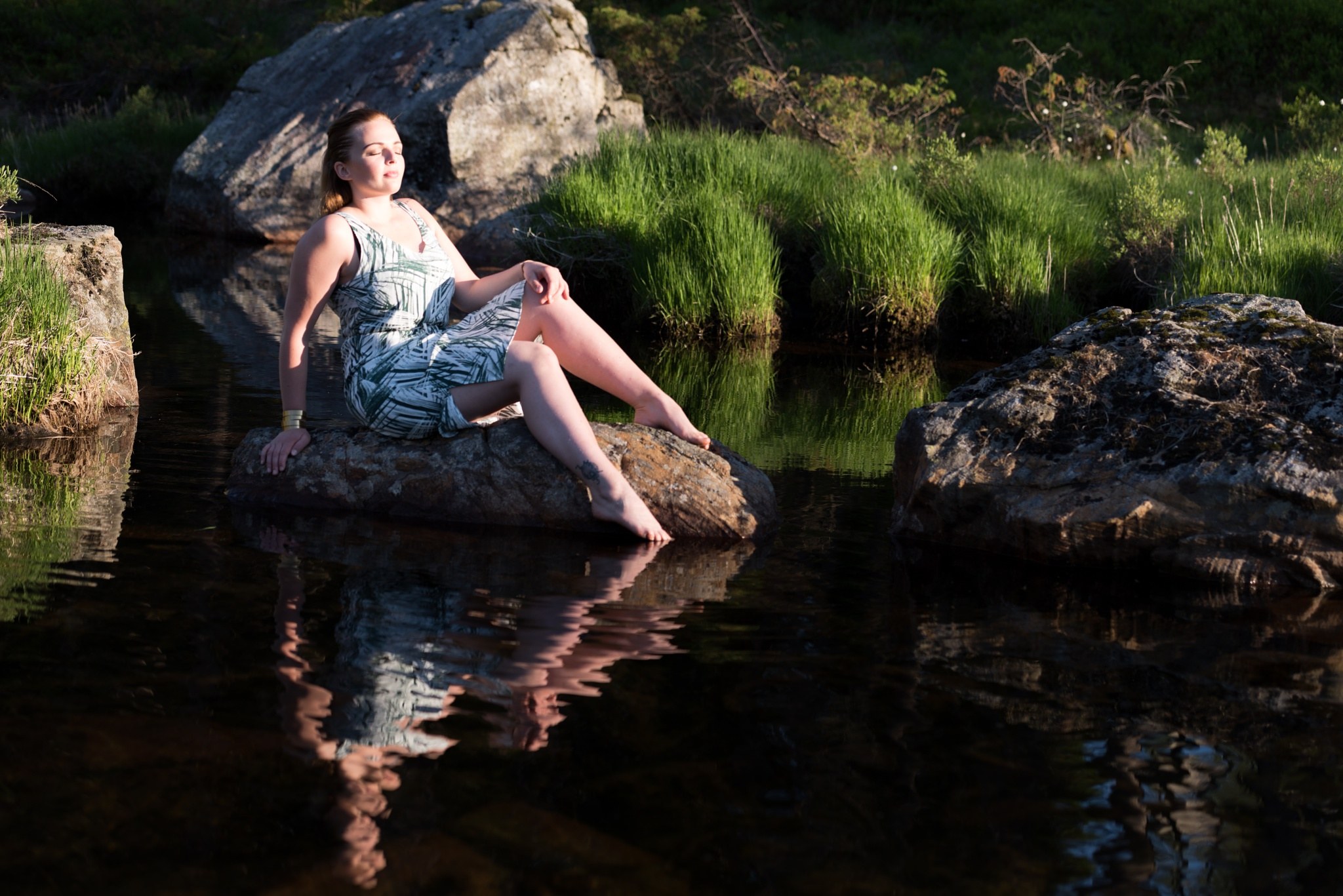 Photo in People #portrait #sb-910 #topaz clarity #softbox #water