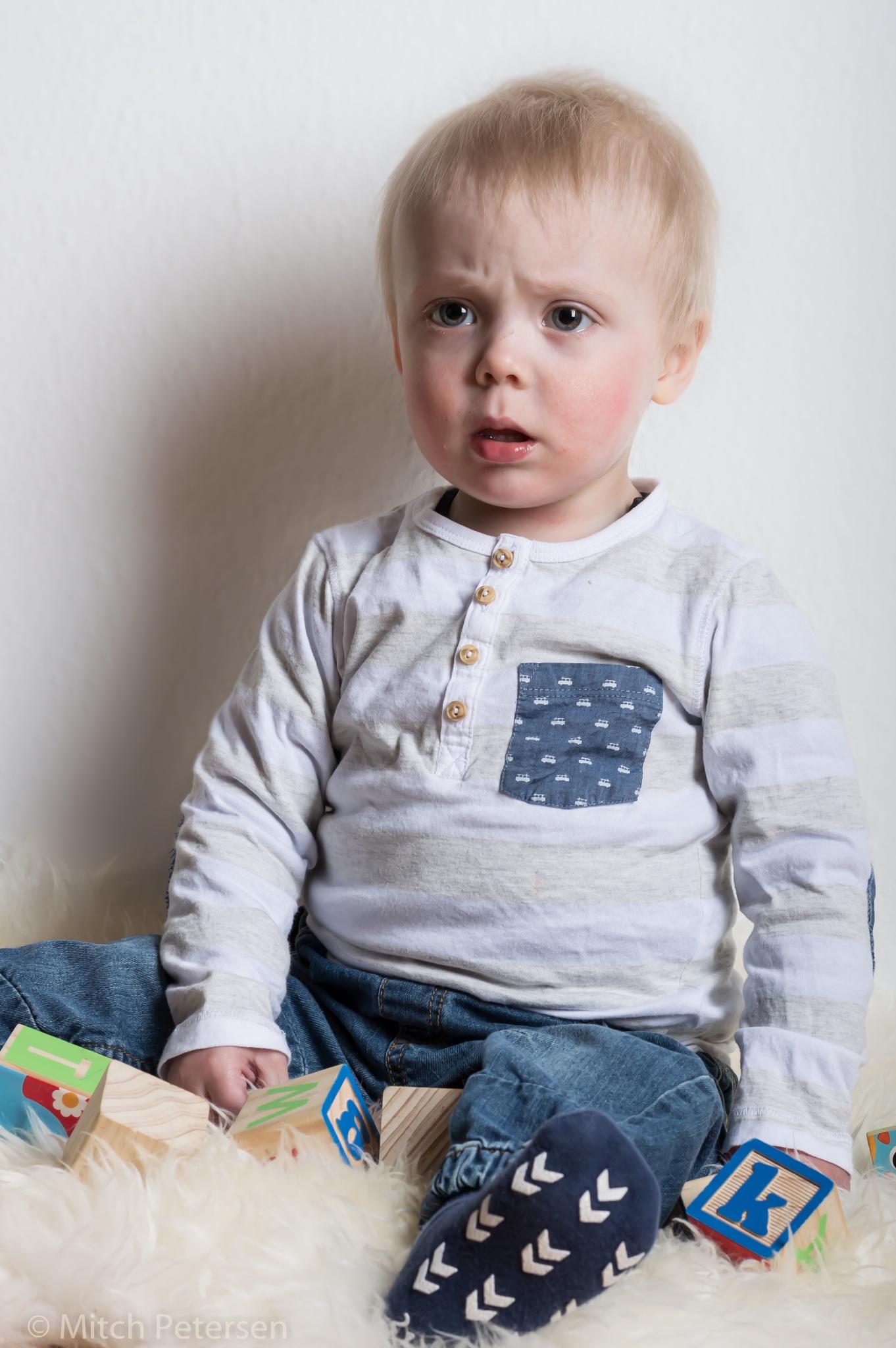 Little Kid. by Mitch Petersen