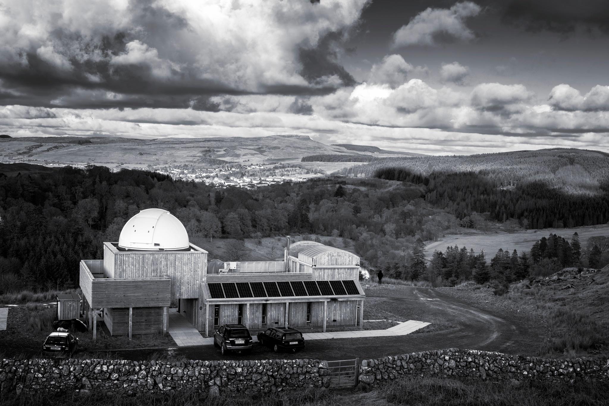 The Scottish Dark Sky Observatory by TrotterFechan