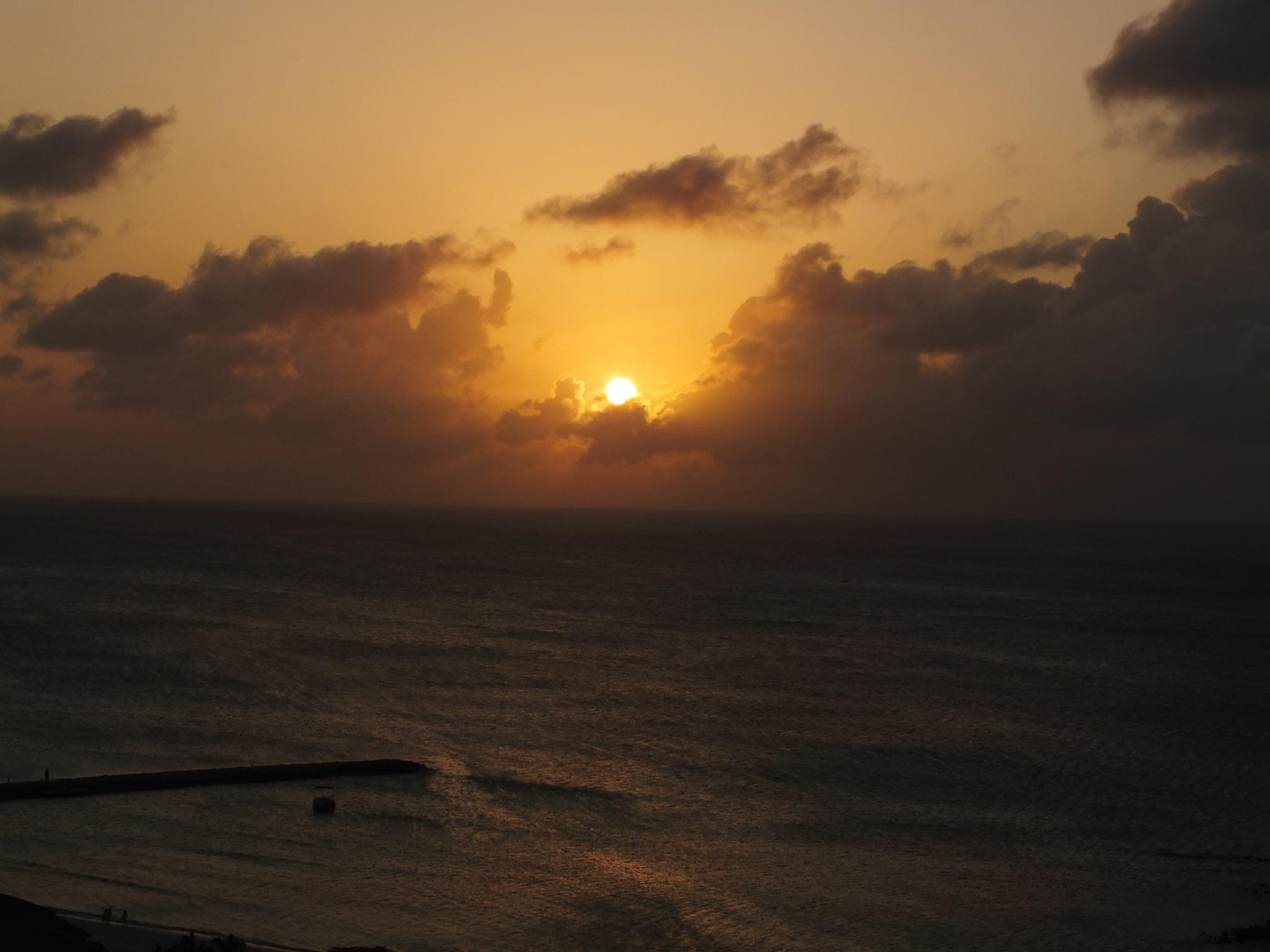 Aruba Sunset by John B. Nurek