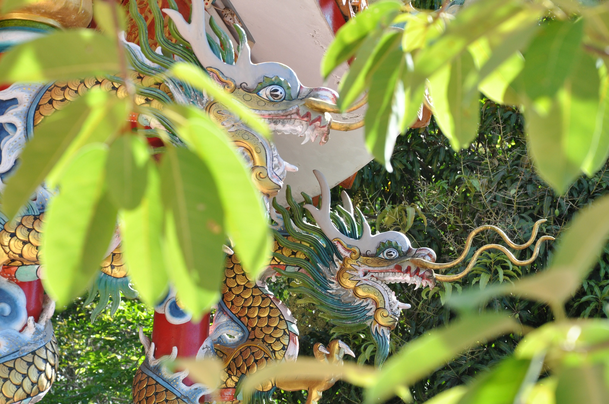 Photo in Random #thailand #kohphangan #chinese #temple #colors