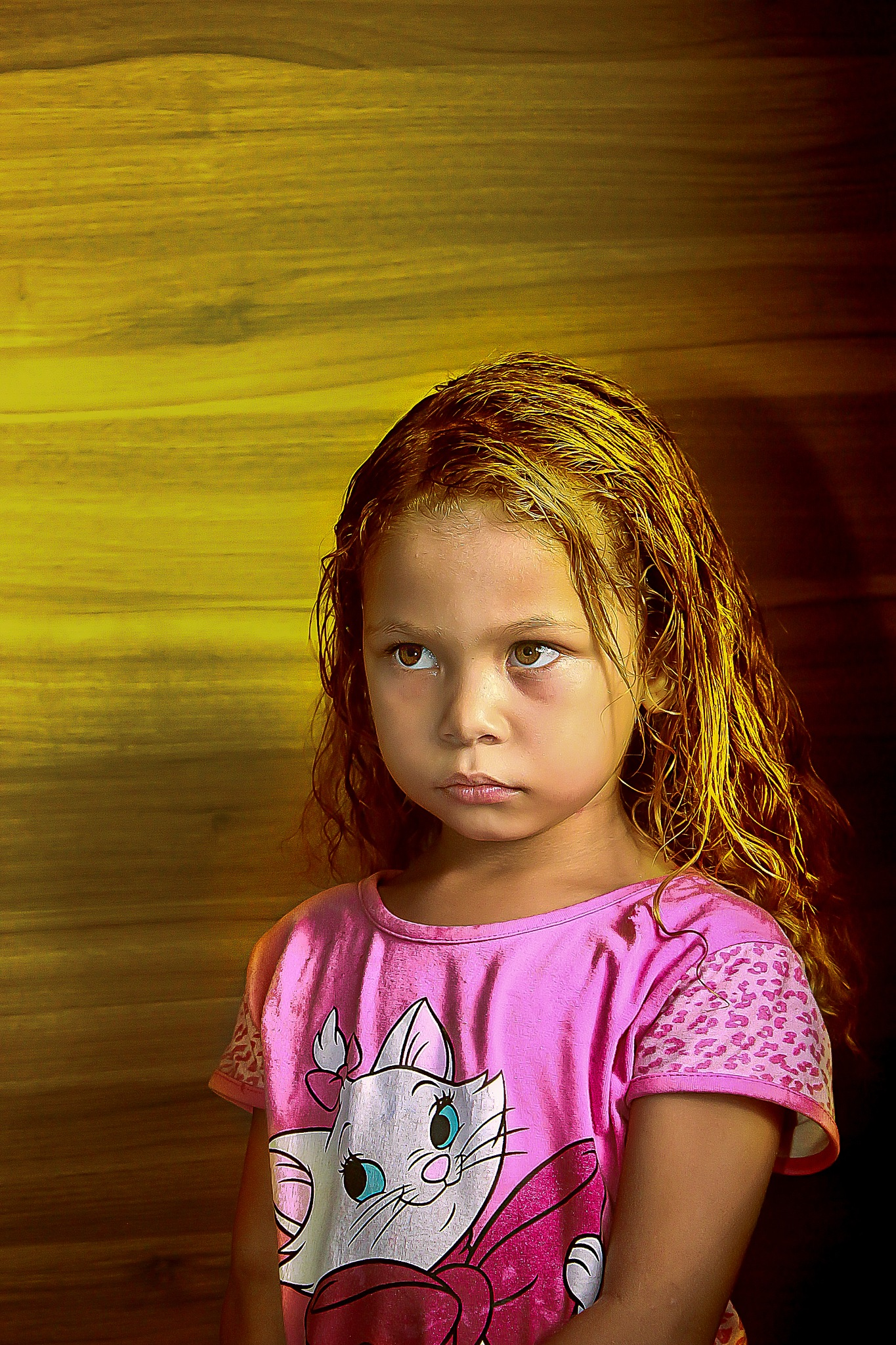 Golden girl by Odon Ricardo Lyra