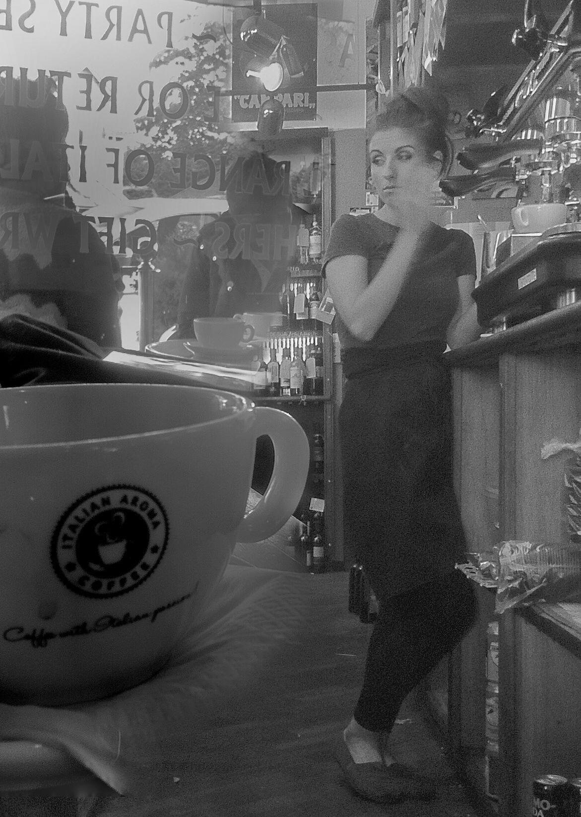 Rush, rush, rush.....the coffee's to tasty by ricardo1