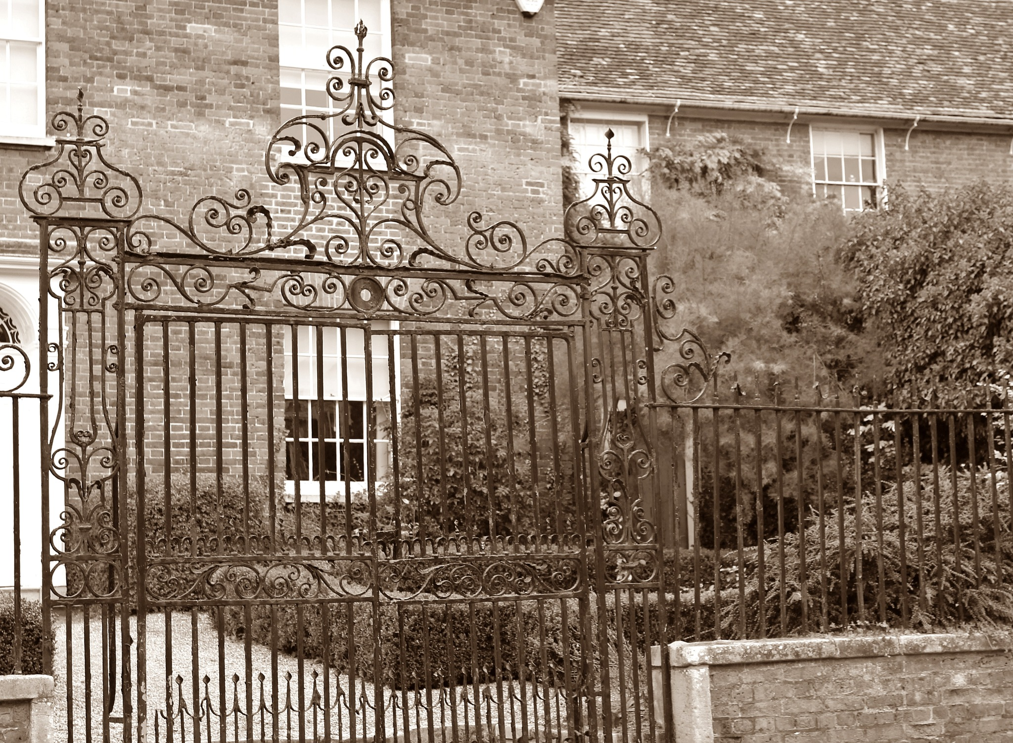 pretty gate  by Jane Rue