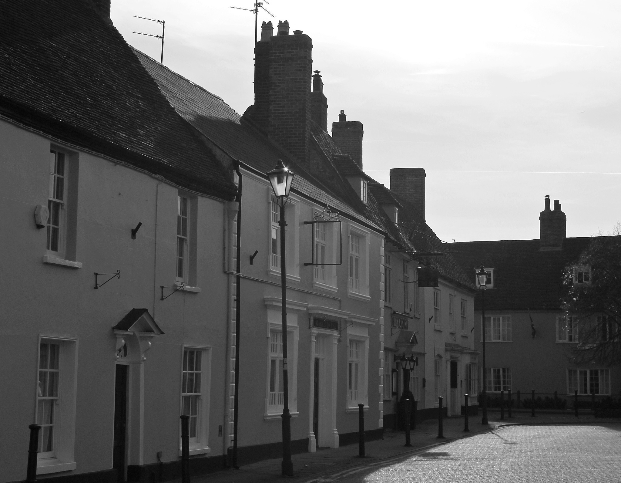 the houses of Stony Stratford by Jane Rue