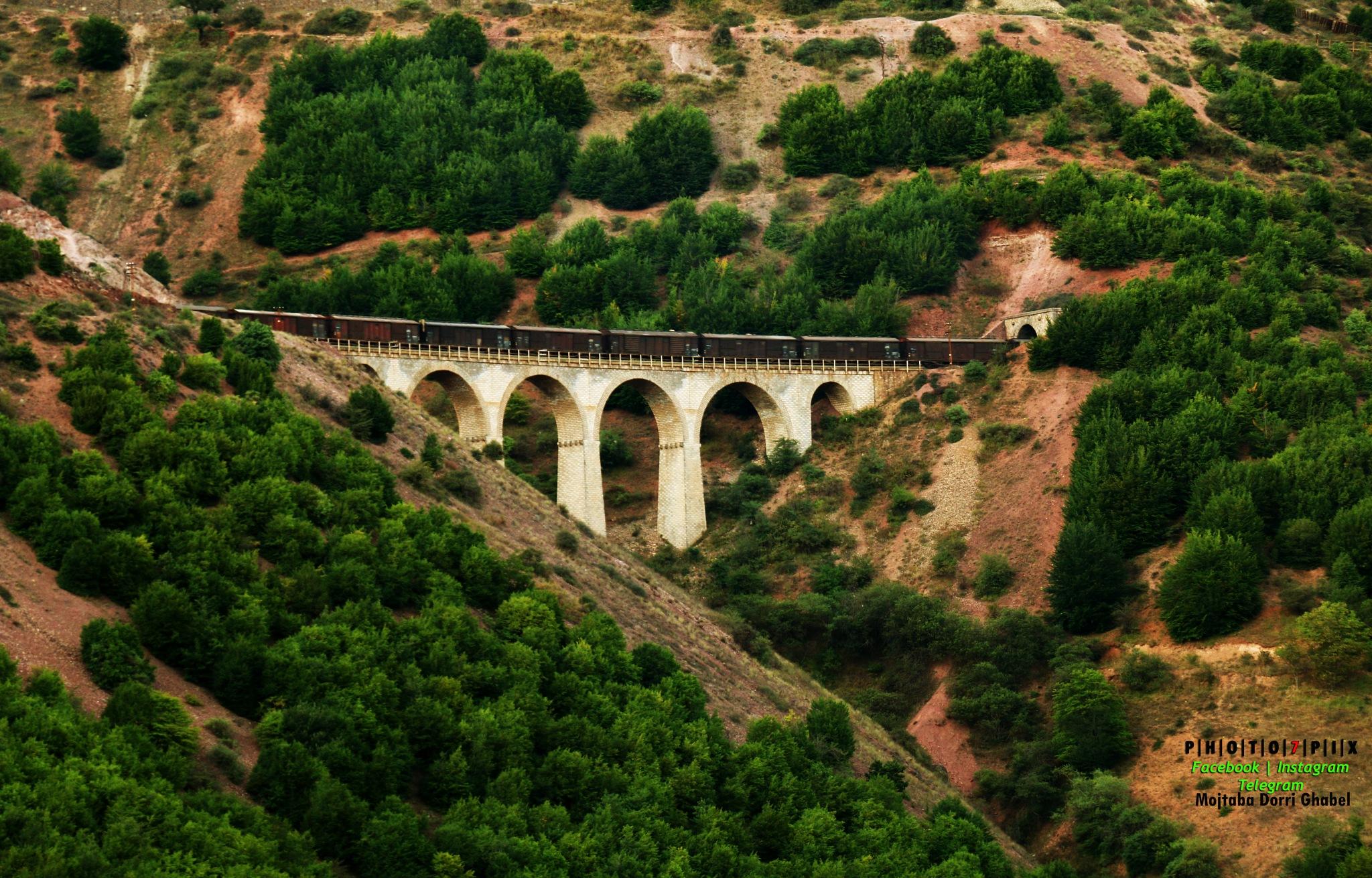 rail on heaven by mojtabadorri