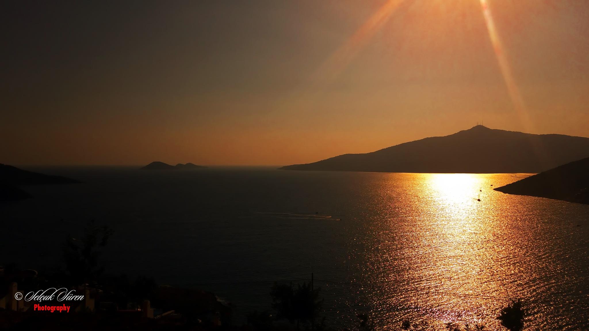 Sunset by Selcuk Suren