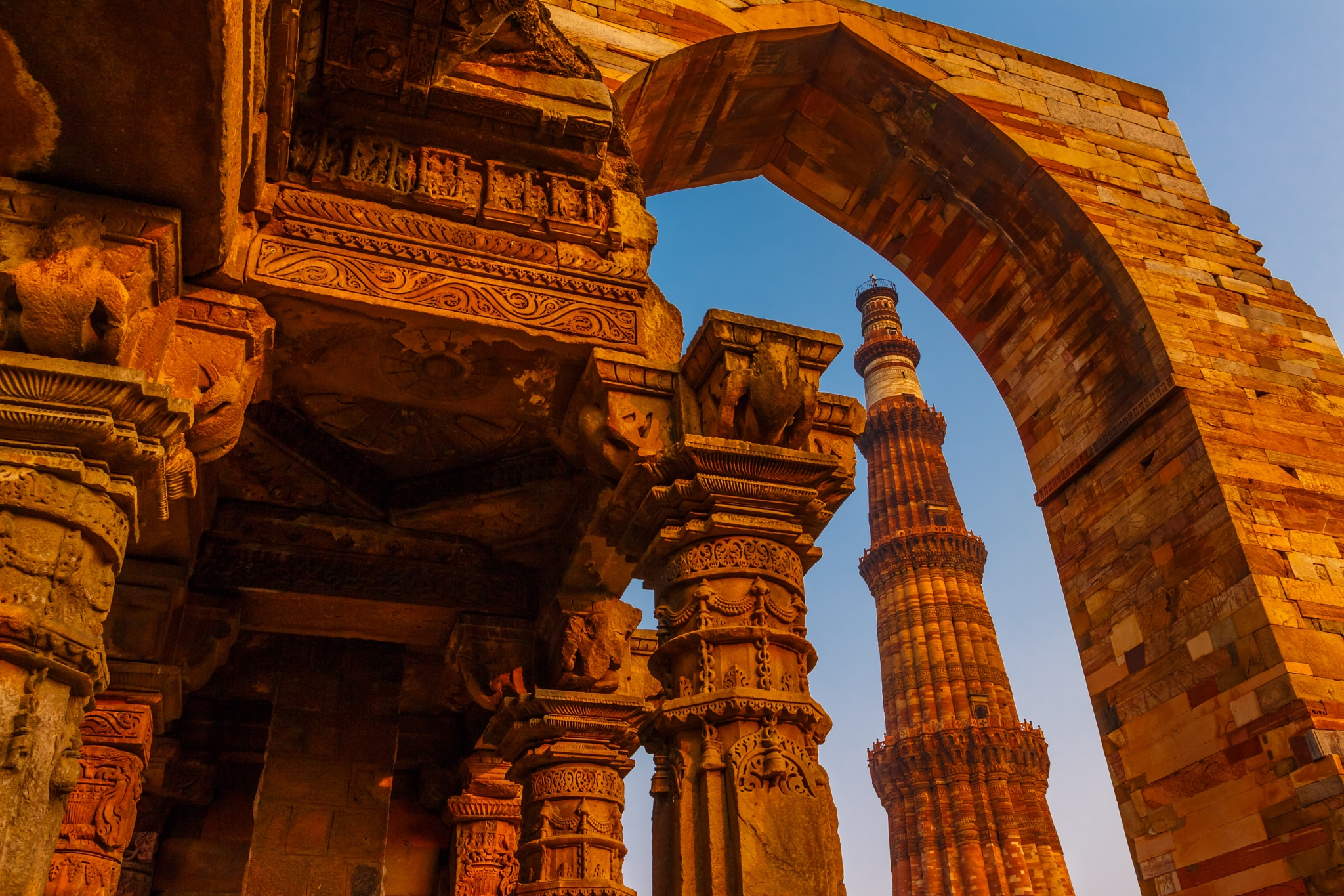 Qutub Minar different framing #architecturecontest by Anurag Banerjee