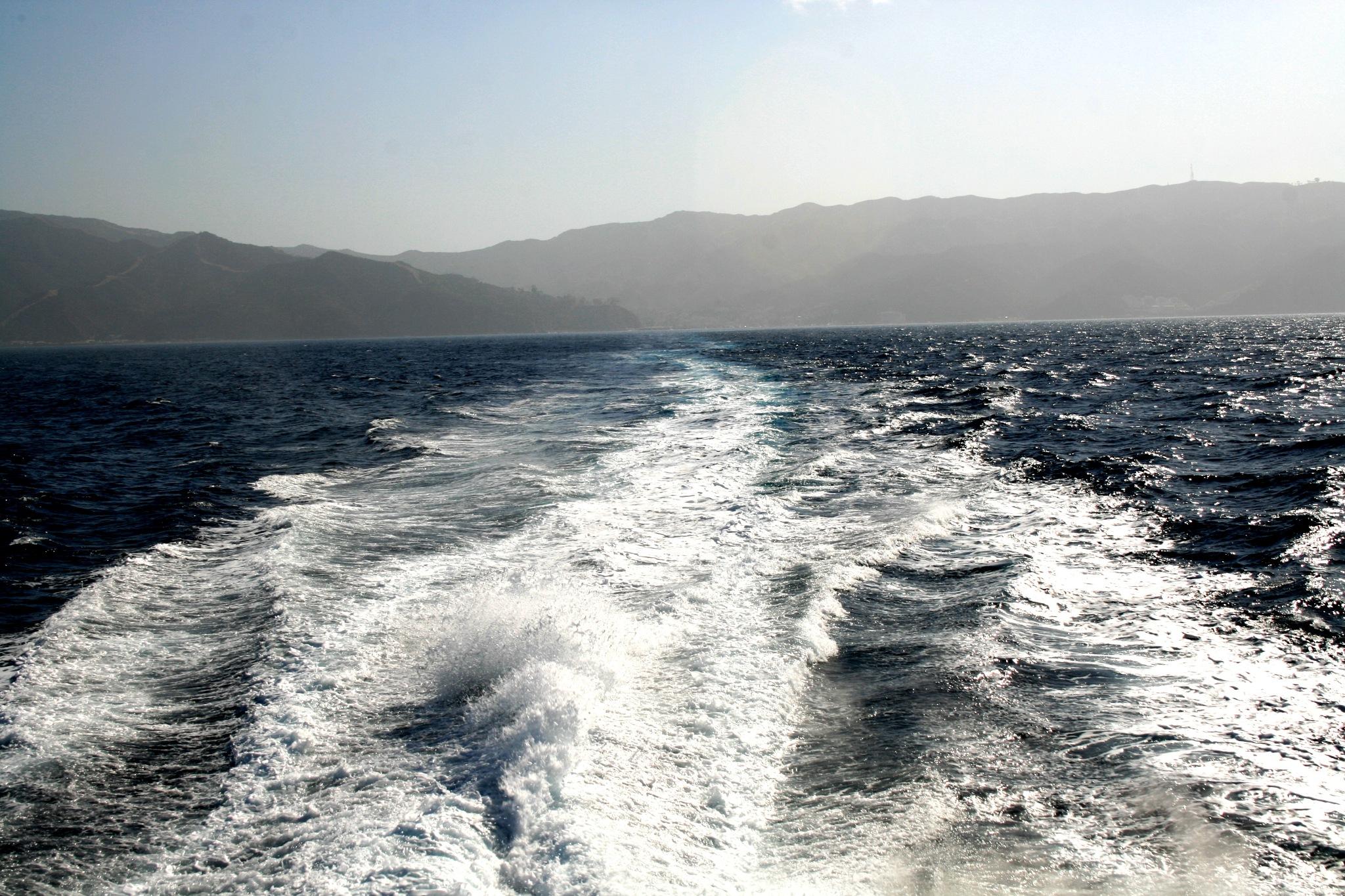 Leaving Catalina by Lynda Clayton