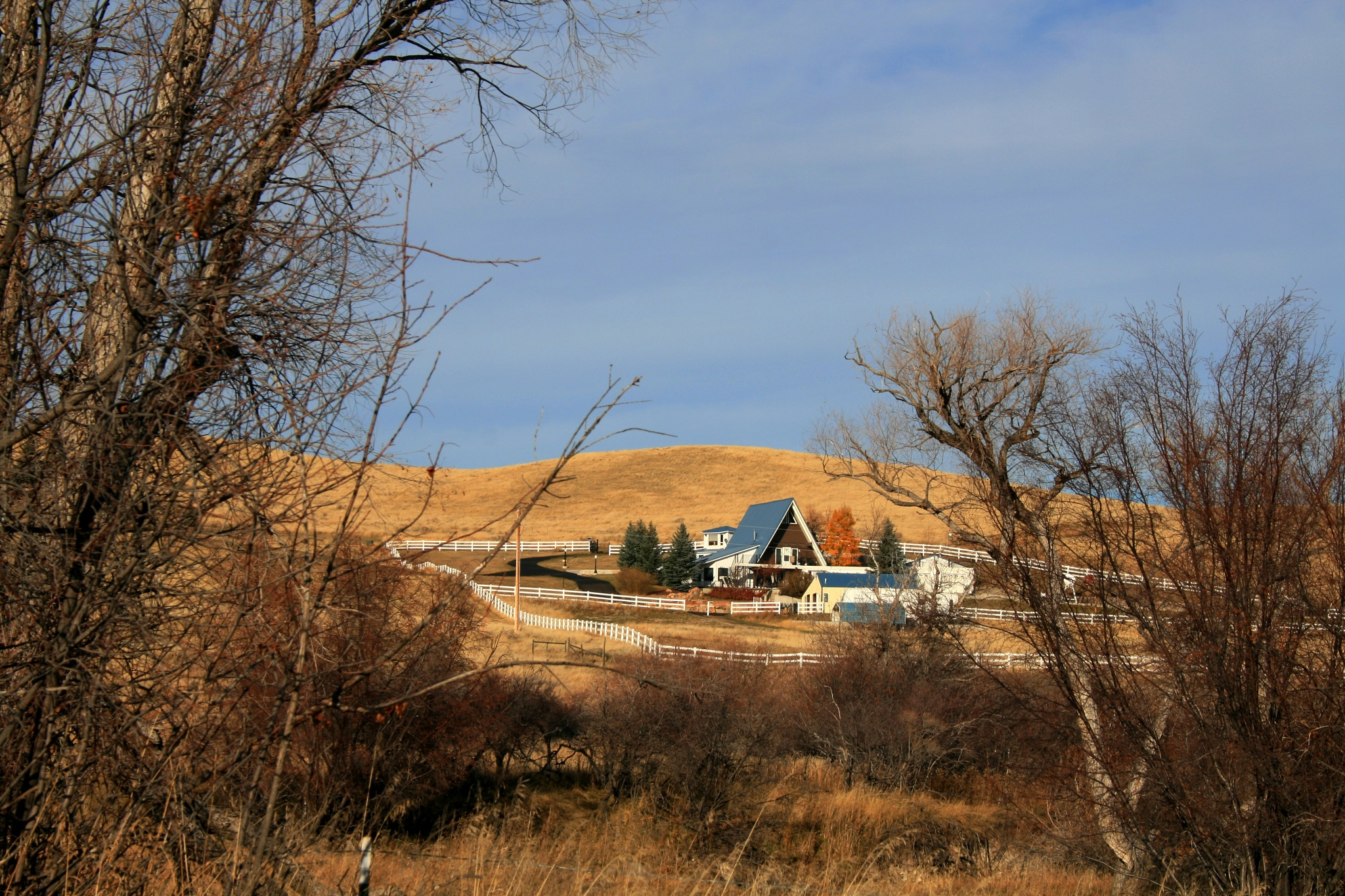 Wyoming Ranch by Lynda Clayton