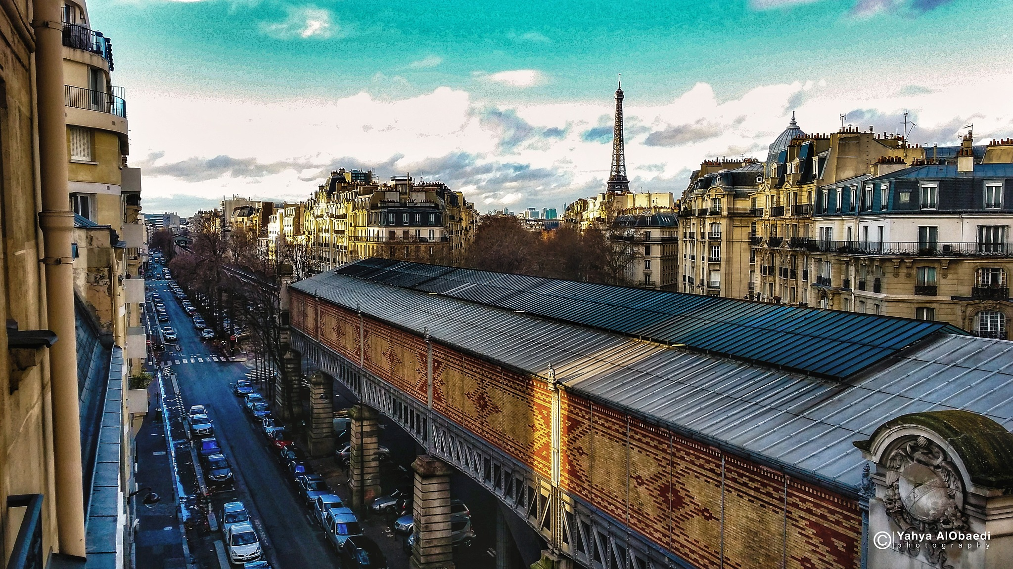 paris - metropolitan area by Yahya AlObaedi