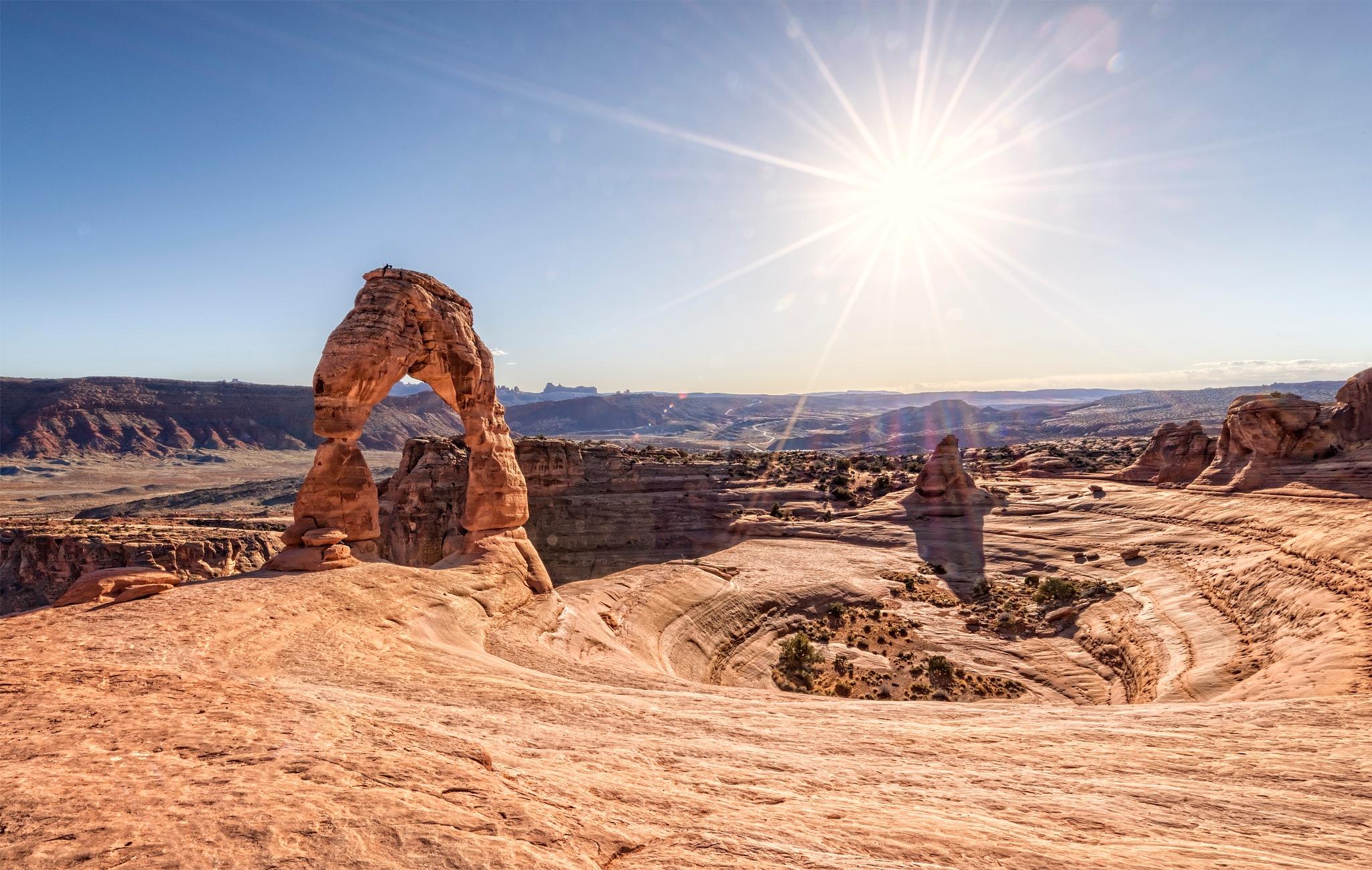 Delicate Arch Sunburst by LaurenMartin