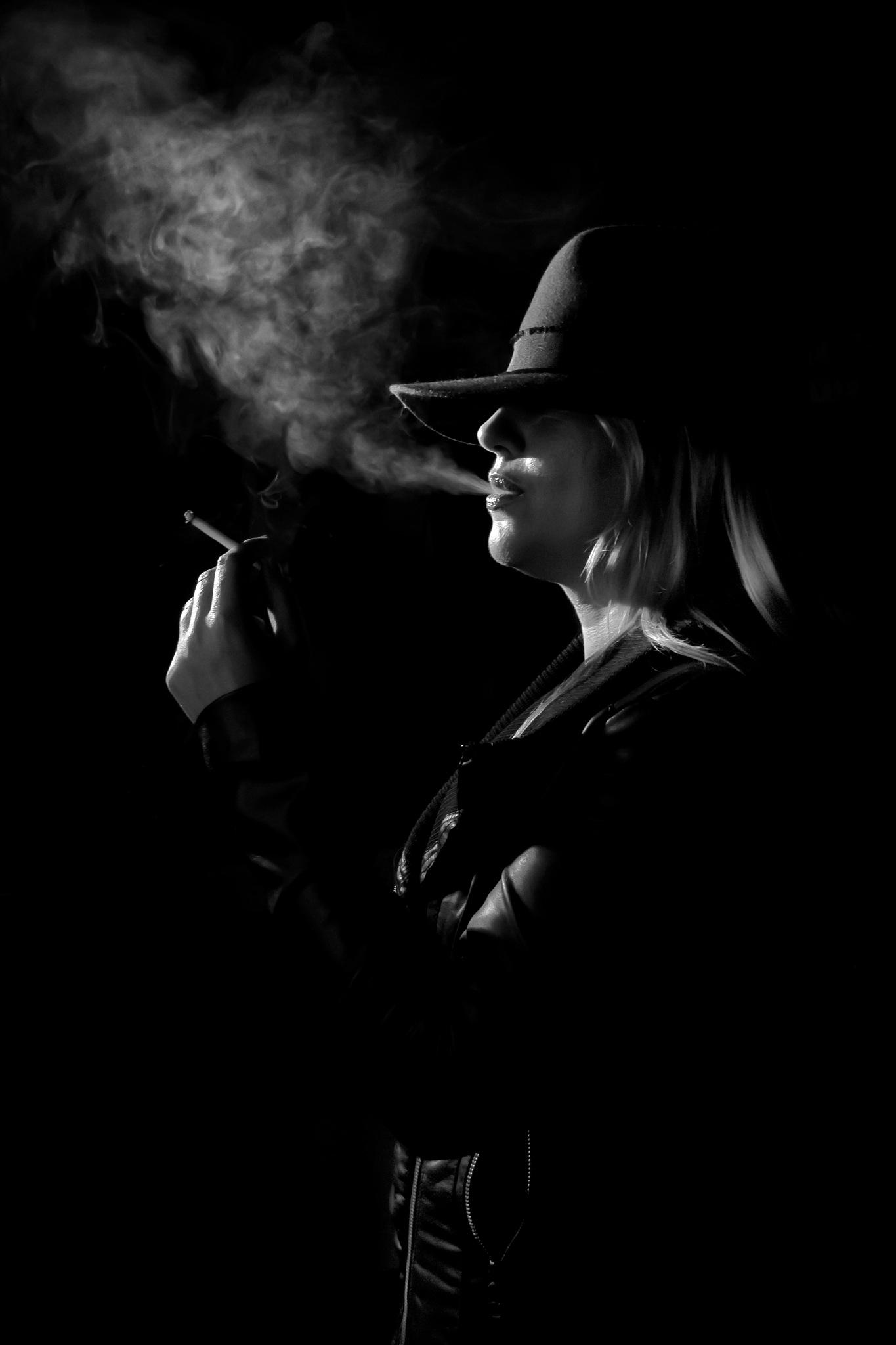 Smoking by Koula Komodromou Hadjichrysanthou