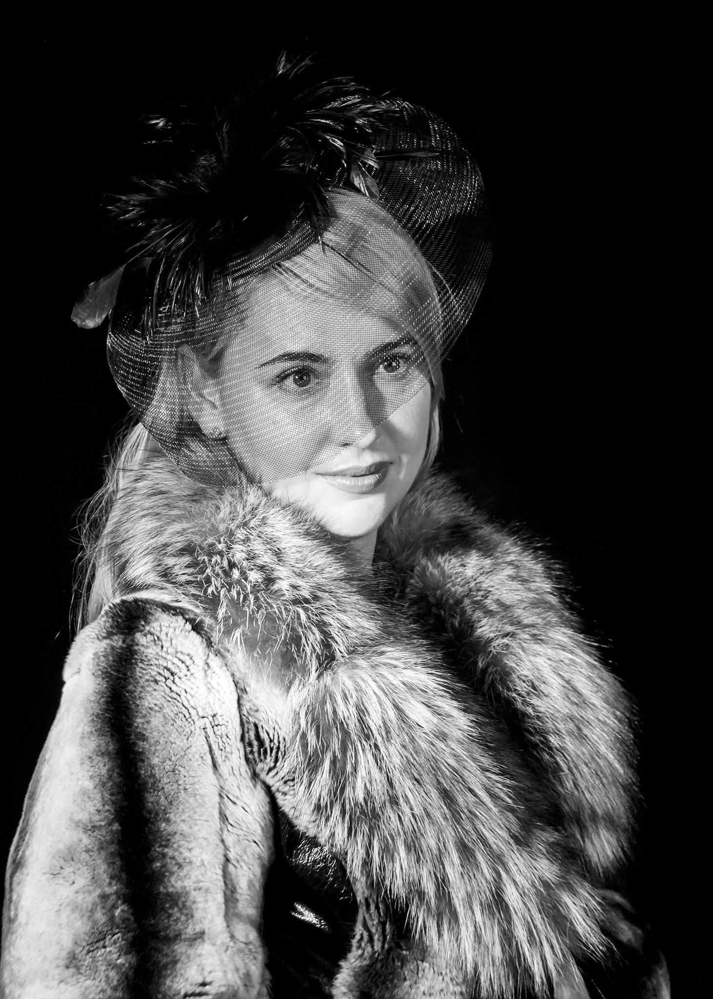 Photo in Portrait #black&white #monochrome #woman