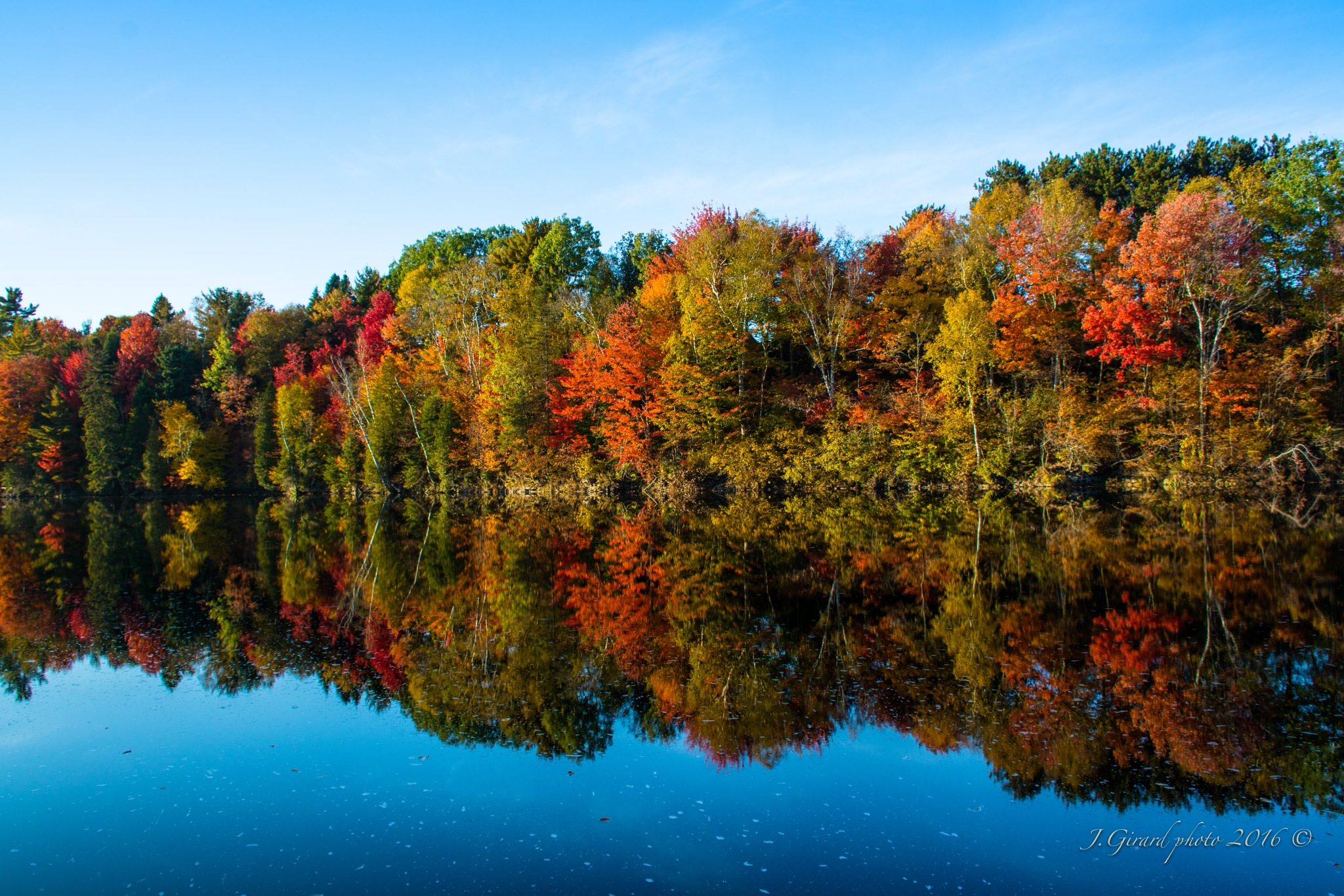 Fall Colours by Jacques Girard