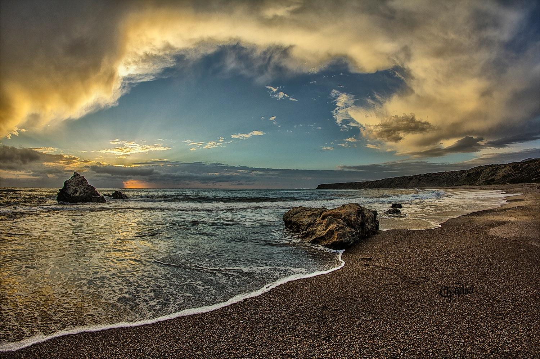 Lara bay  Cyprus by Chindos