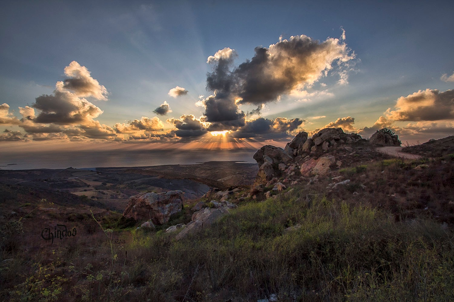 Akamas national park of Cyprus by Chindos