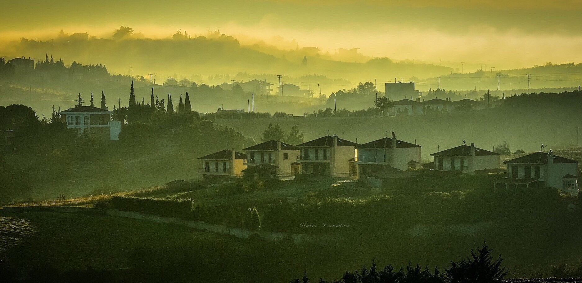 FOGGY SUNRISE by Foteini Tsanidou