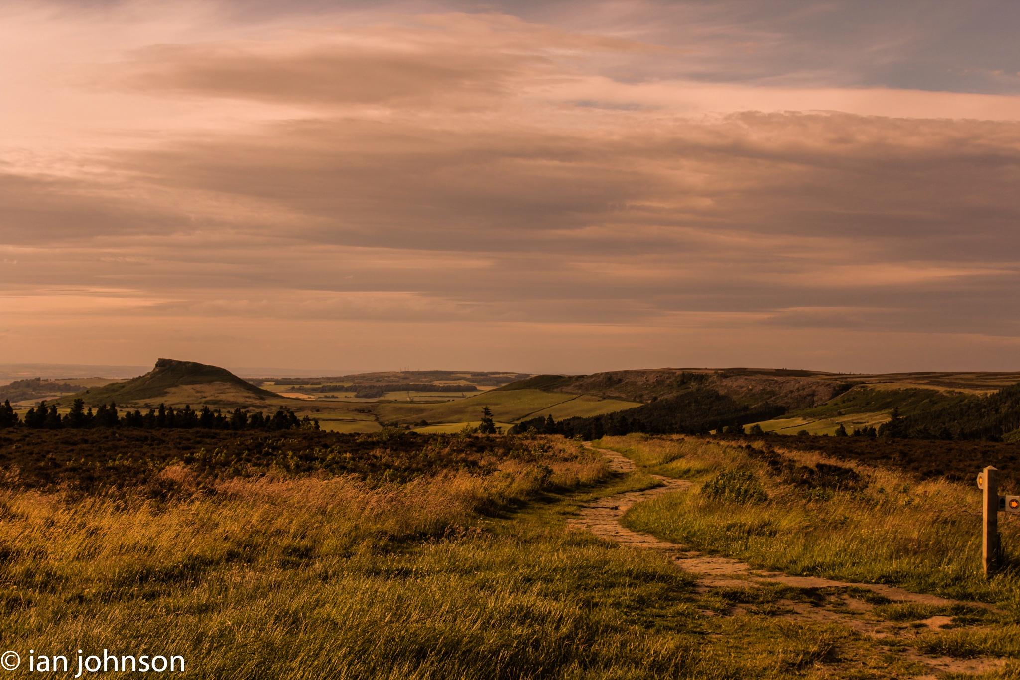 Rosebury Topping by Ian Johnson