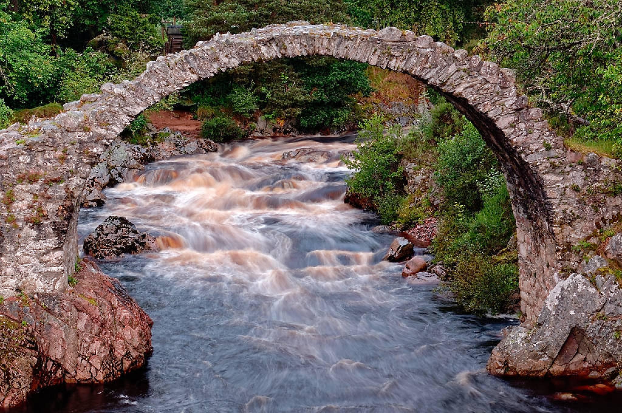 "Carrbridge, Scotland by David ""HAJES"" Hájek"