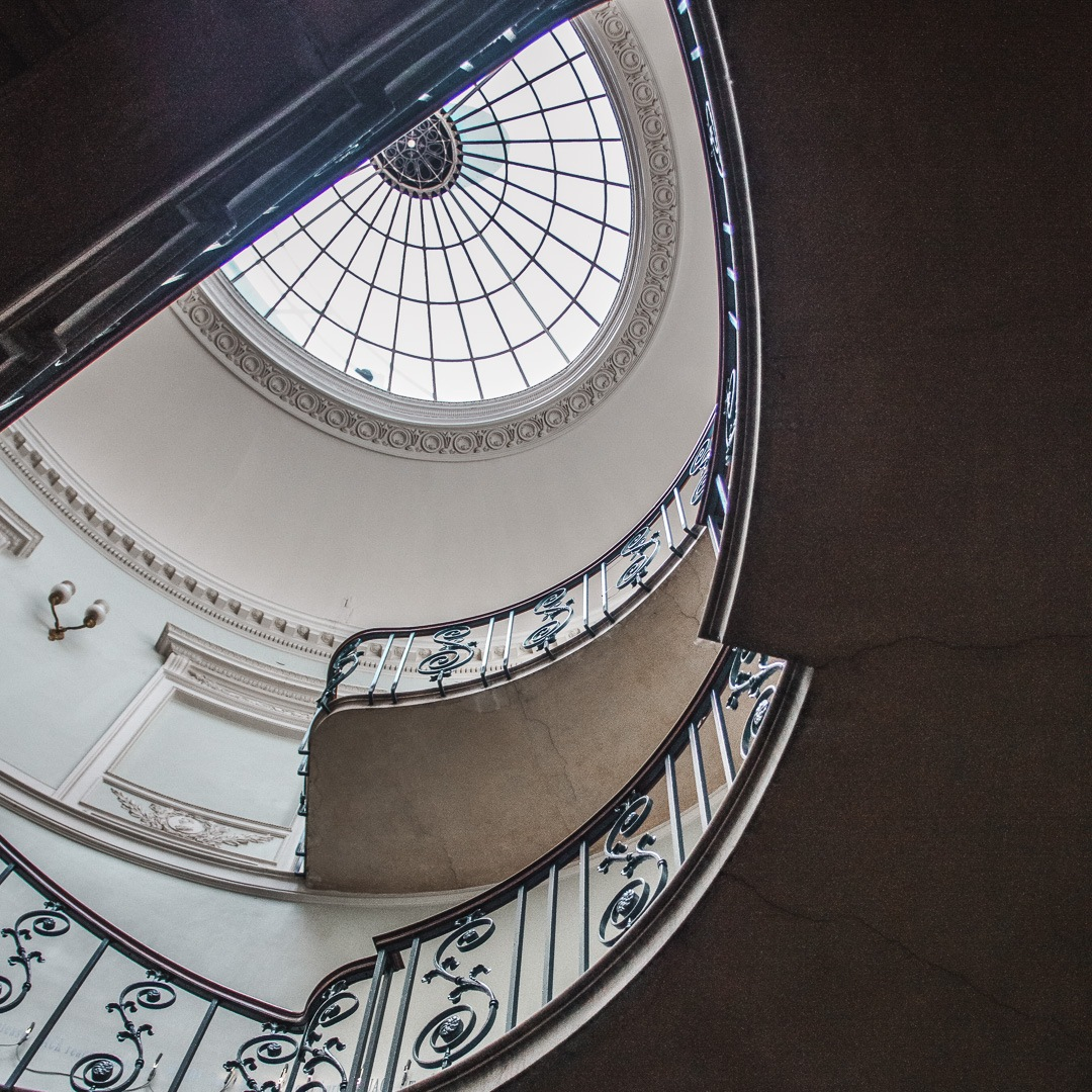 Nelson Staircase, Somerset House by DVSN Collective