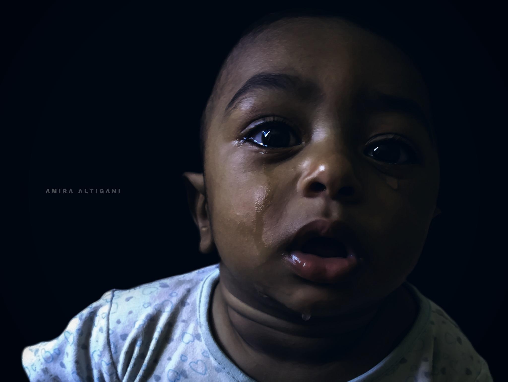 "Portrait ""Baby Cry"" by Amira Altigani"