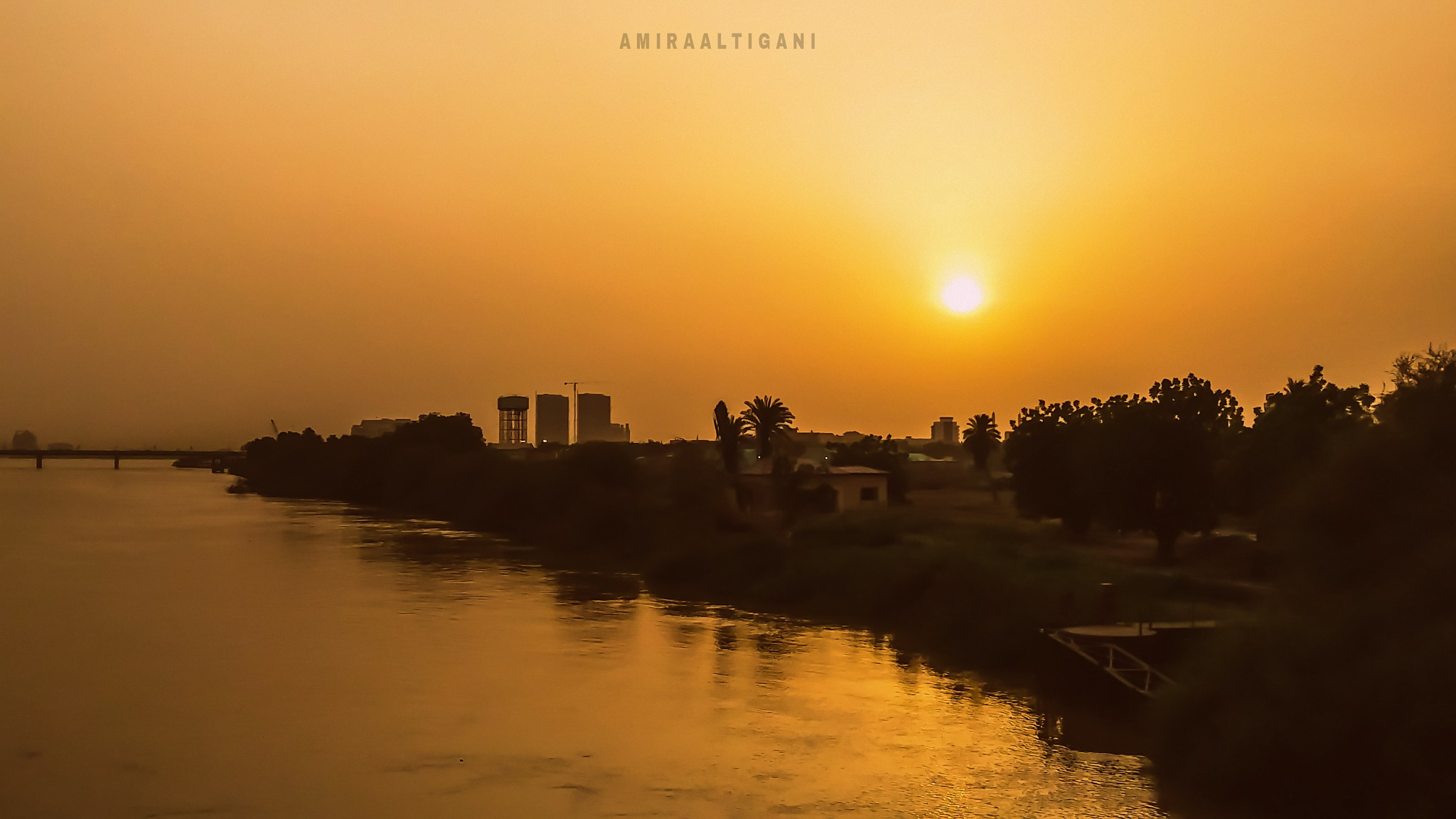 Sun Set by Amira Altigani