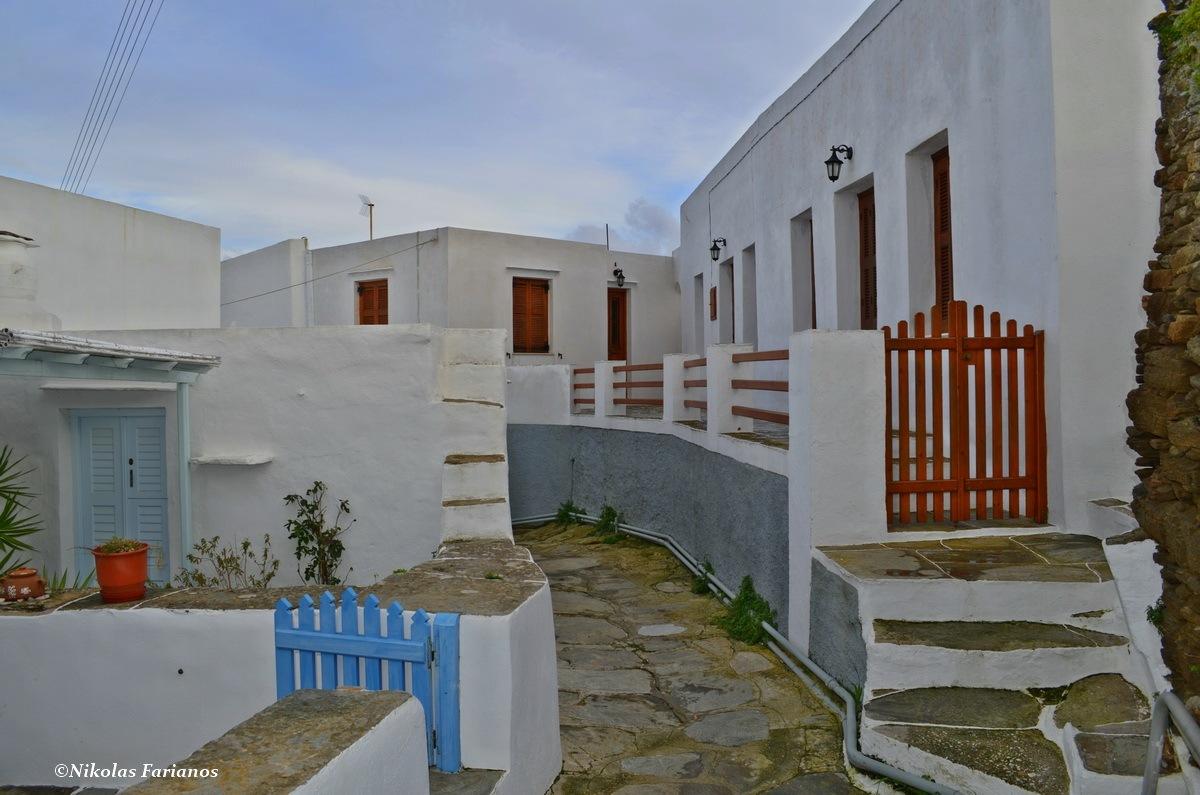 Exampela village-Sifnos island by  Nikolas Farianos