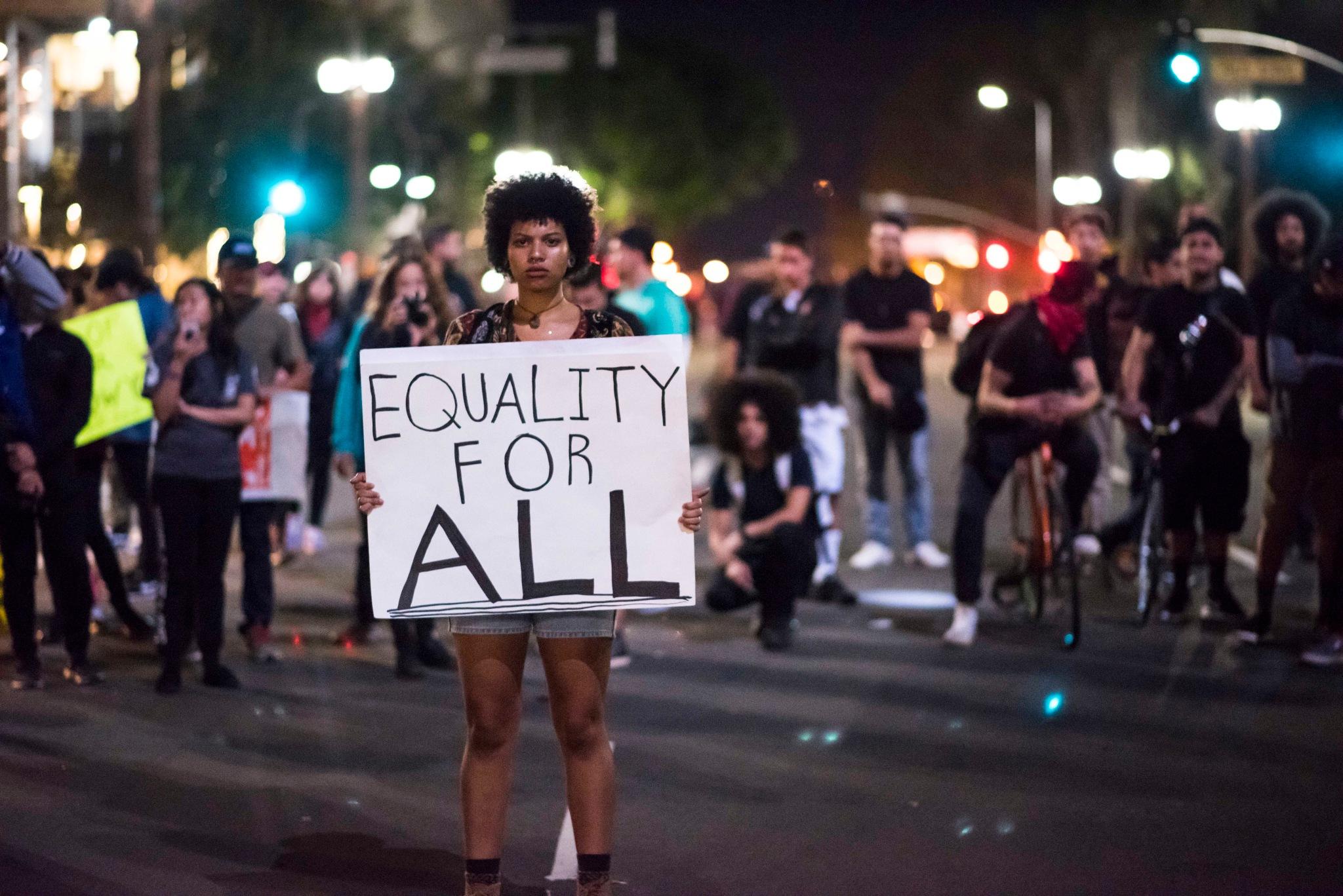 Human Right Activist by James Kang