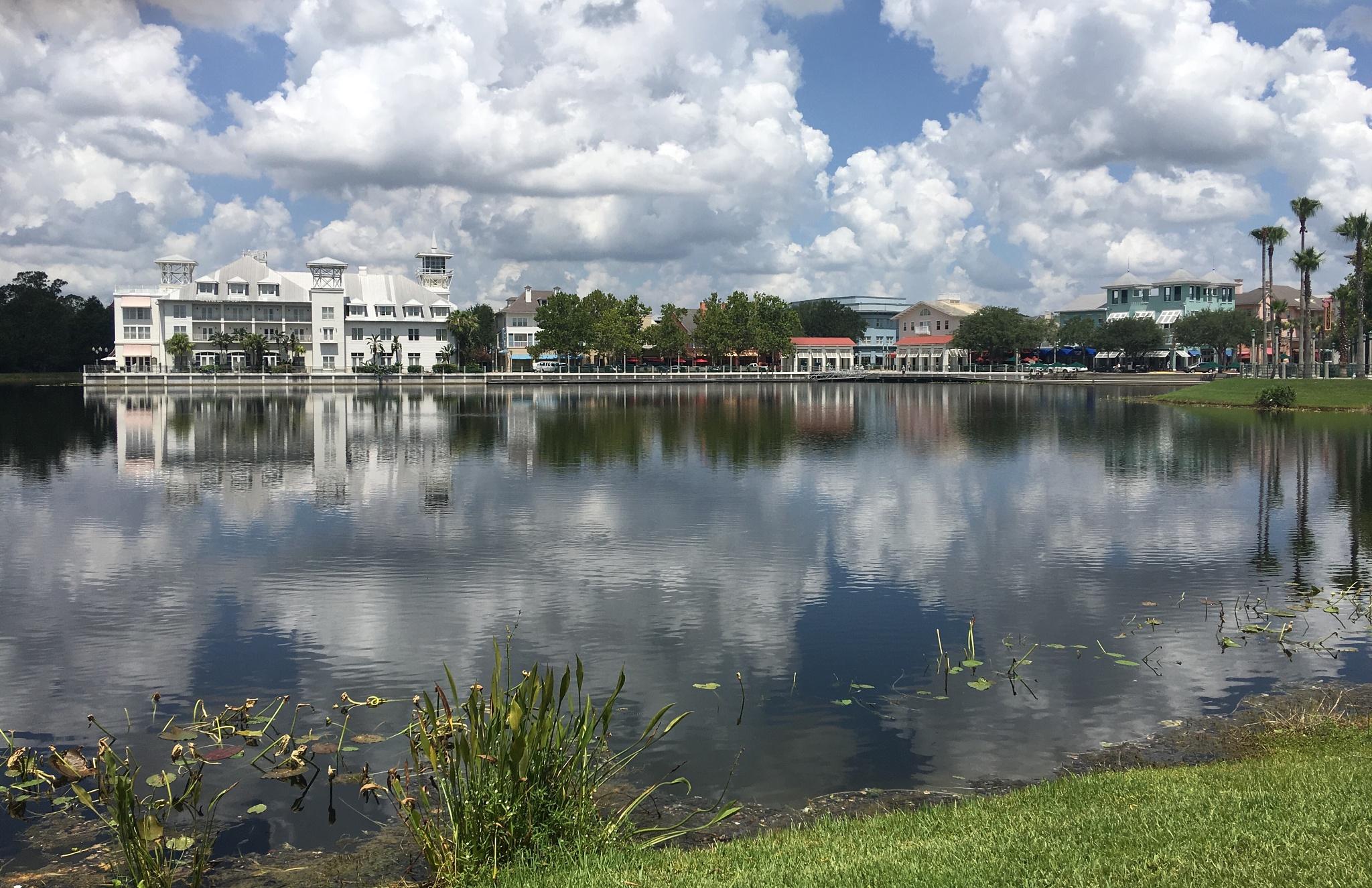 Celebration Florida  by Jock Elliott