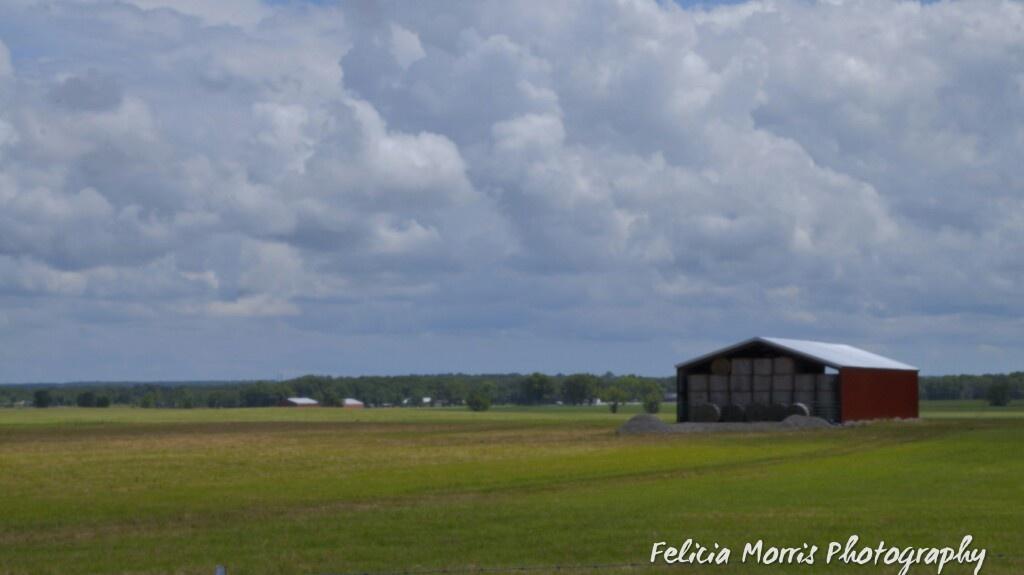 Photo in Landscape #farm #farming #barn