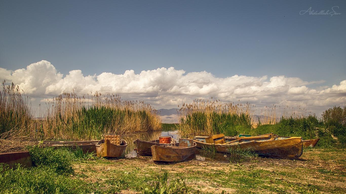 Eber Gölü by Abdullah Şen