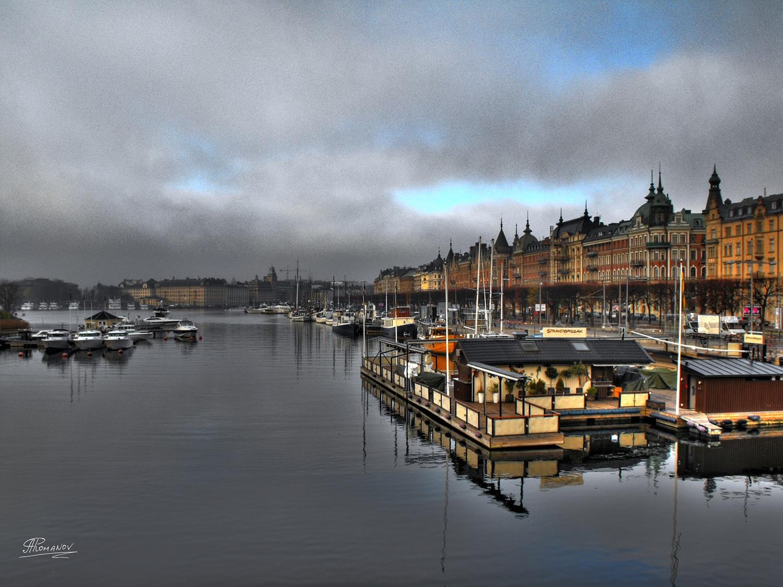 Early Morning in Stockholm by Artjom Romanov