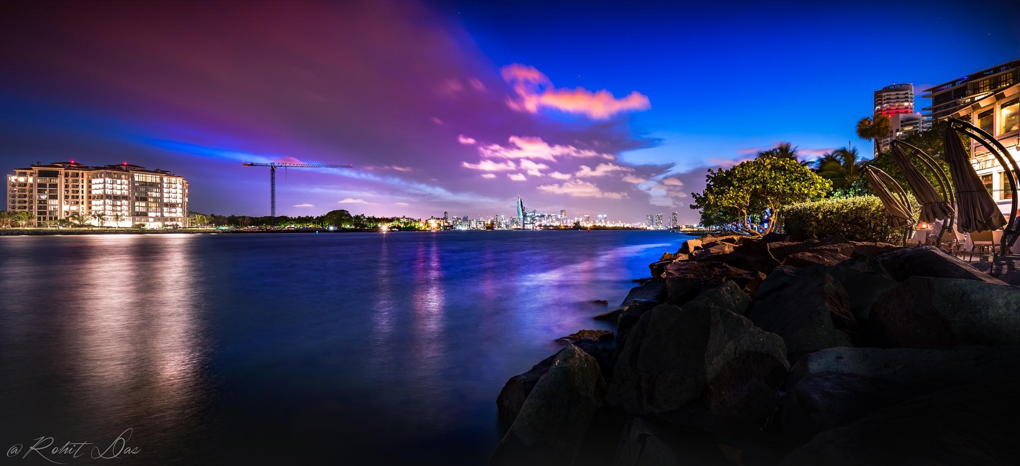 Miami Beach by Rohit Das
